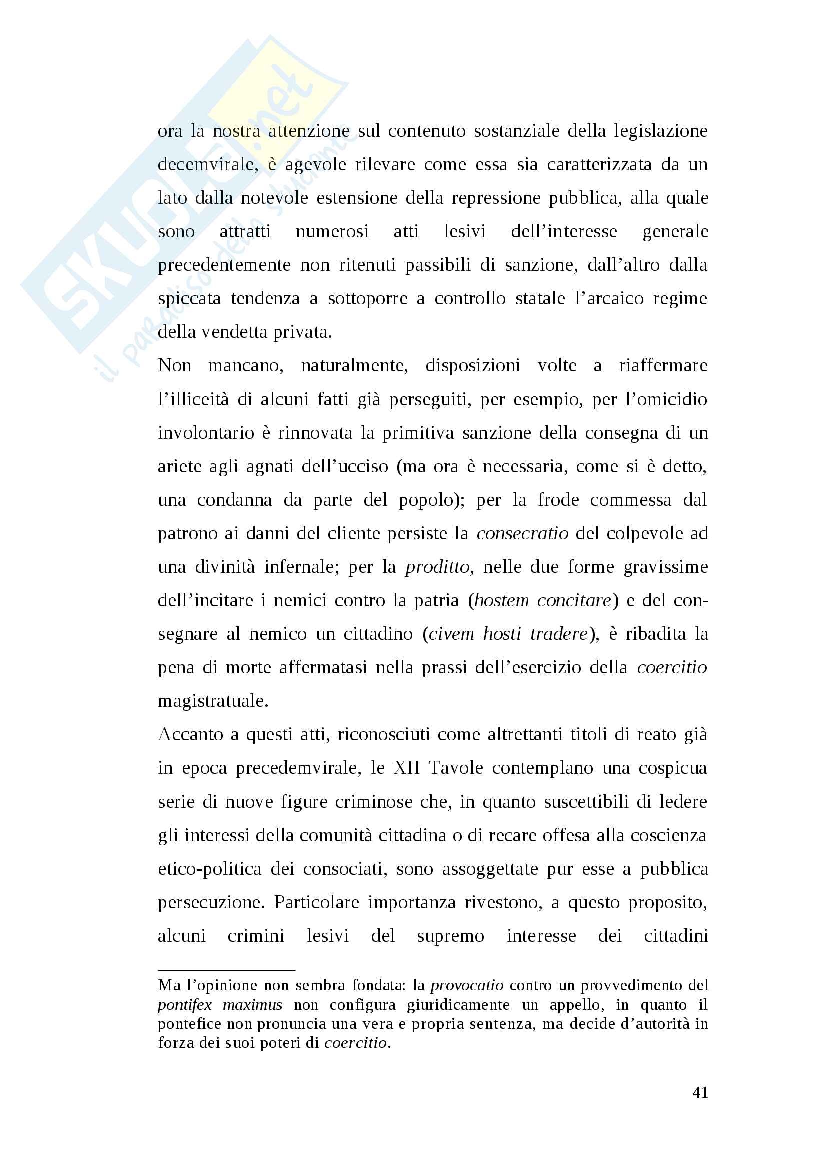Tesi pena di morte antica Roma Pag. 41