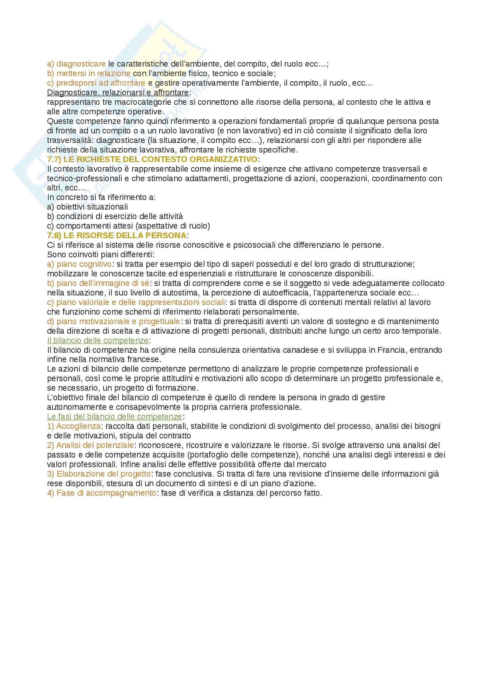 Riassunto esame psicologia del lavoro e delle organizzazioni, prof. Miglioretti, libro consigliato psicologia del lavoro, Sarchielli Pag. 36