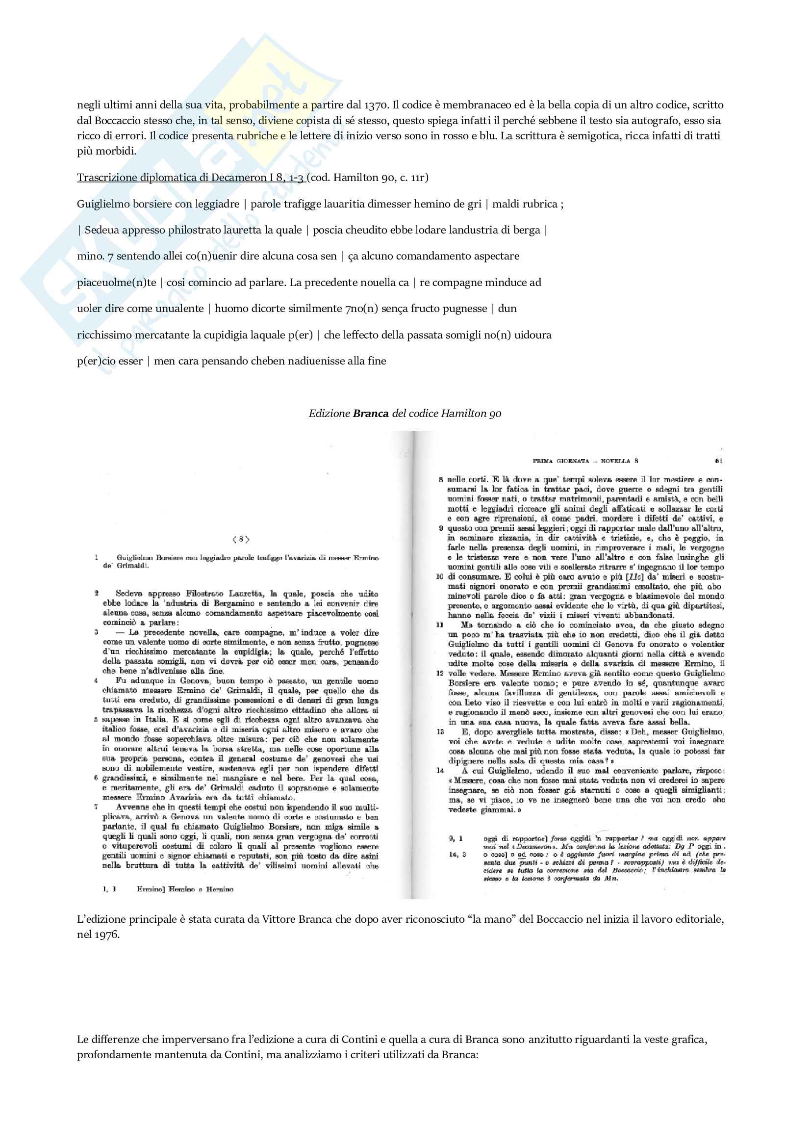 Appunti Filologia Italiana Pag. 11