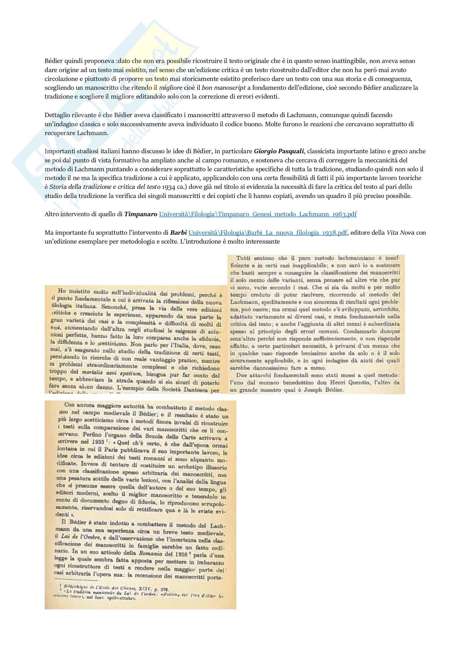 Appunti Filologia Italiana Pag. 41