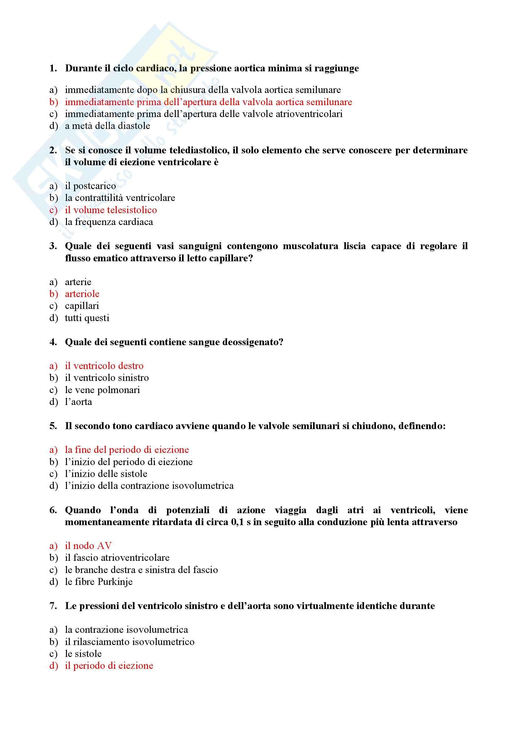 Cardiologia - Test