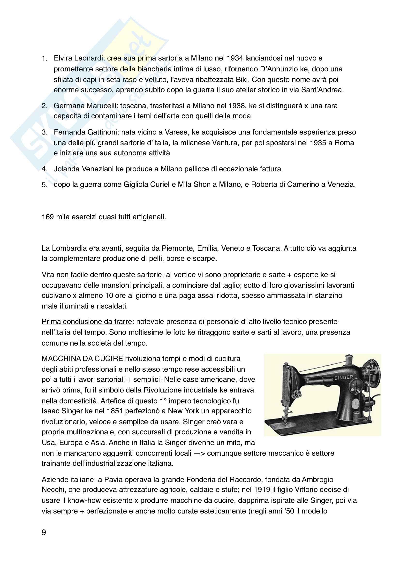 Riassunto esame Economia e cultura del sistema moda, prof. Scarpellini, libro consigliato La stoffa dell'Italia. Storia e cultura della moda dal 1945 a oggi, autore Emanuela Scarpellini Pag. 26