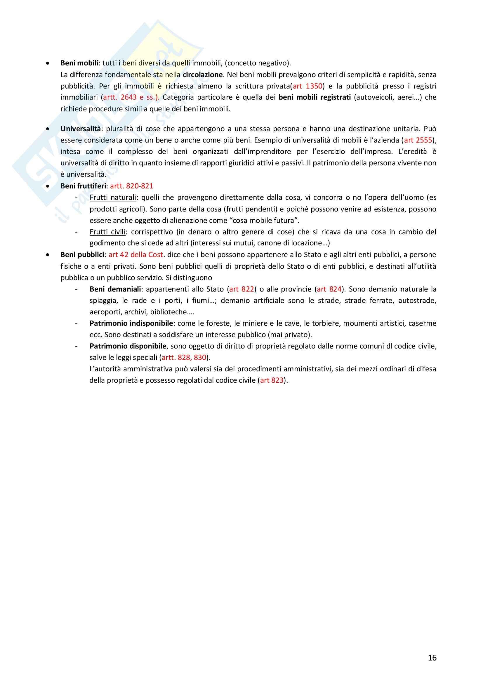 Riassunto esame Diritto Privato, prof. Morlotti, libro consigliato Diritto Privato di Zatti Pag. 16