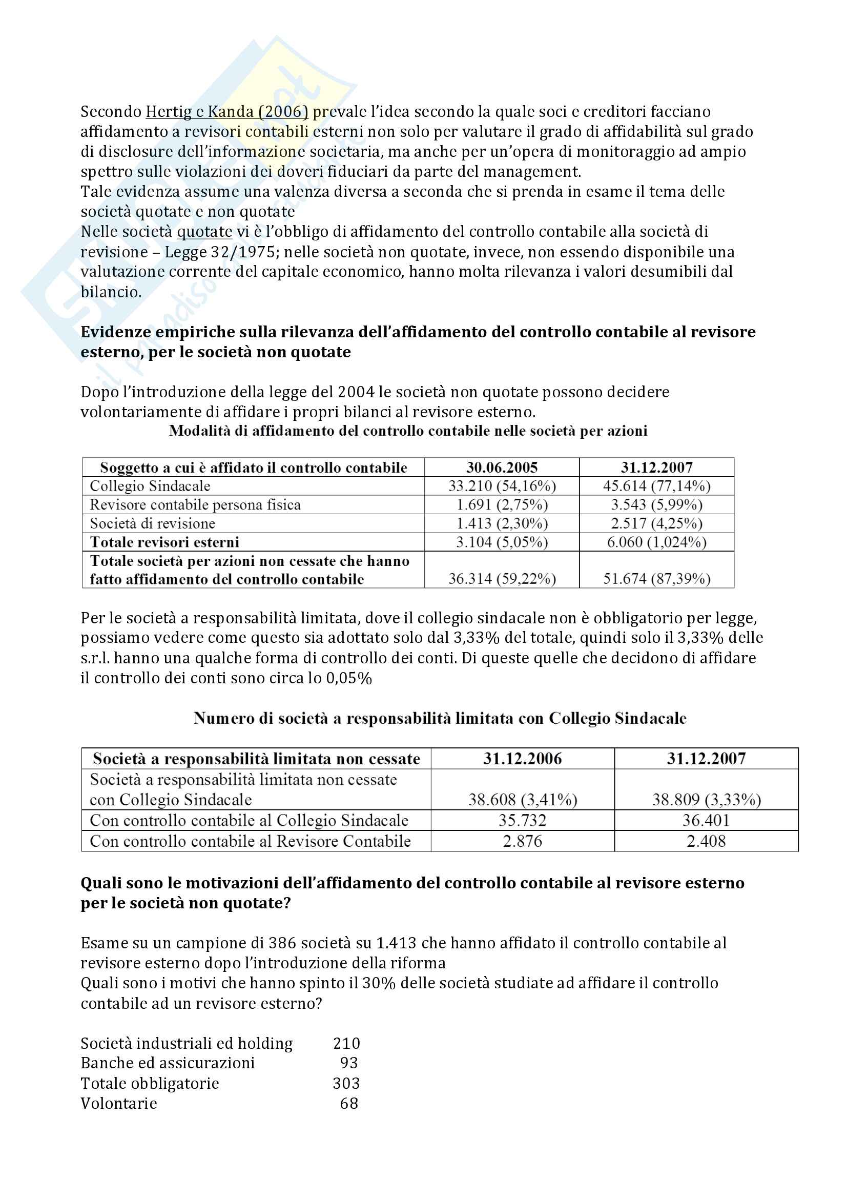 Appunti completi corporate governance Pag. 66