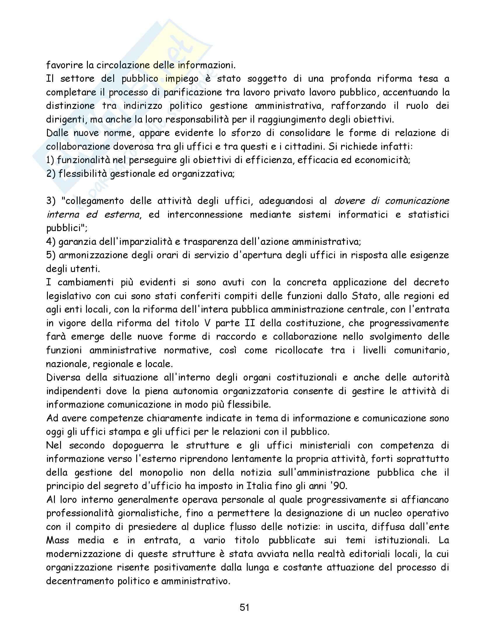 Riassunto esame Diritto dell'Informazione e della Comunicazione, prof. Gardini, libro consigliato Diritto dell'Informazione e Comunicazione, Colarullo Pag. 51