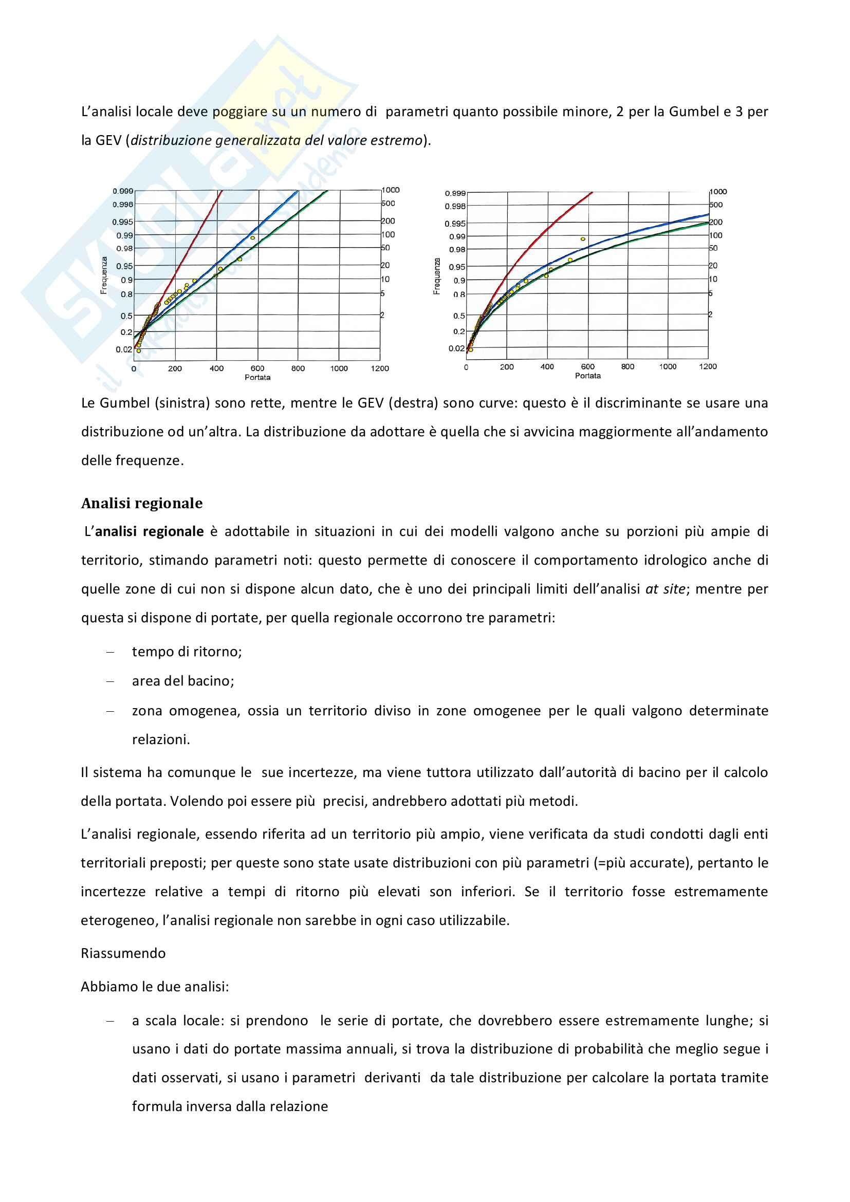 Corso di Idrologia appunti delle lezioni Pag. 6