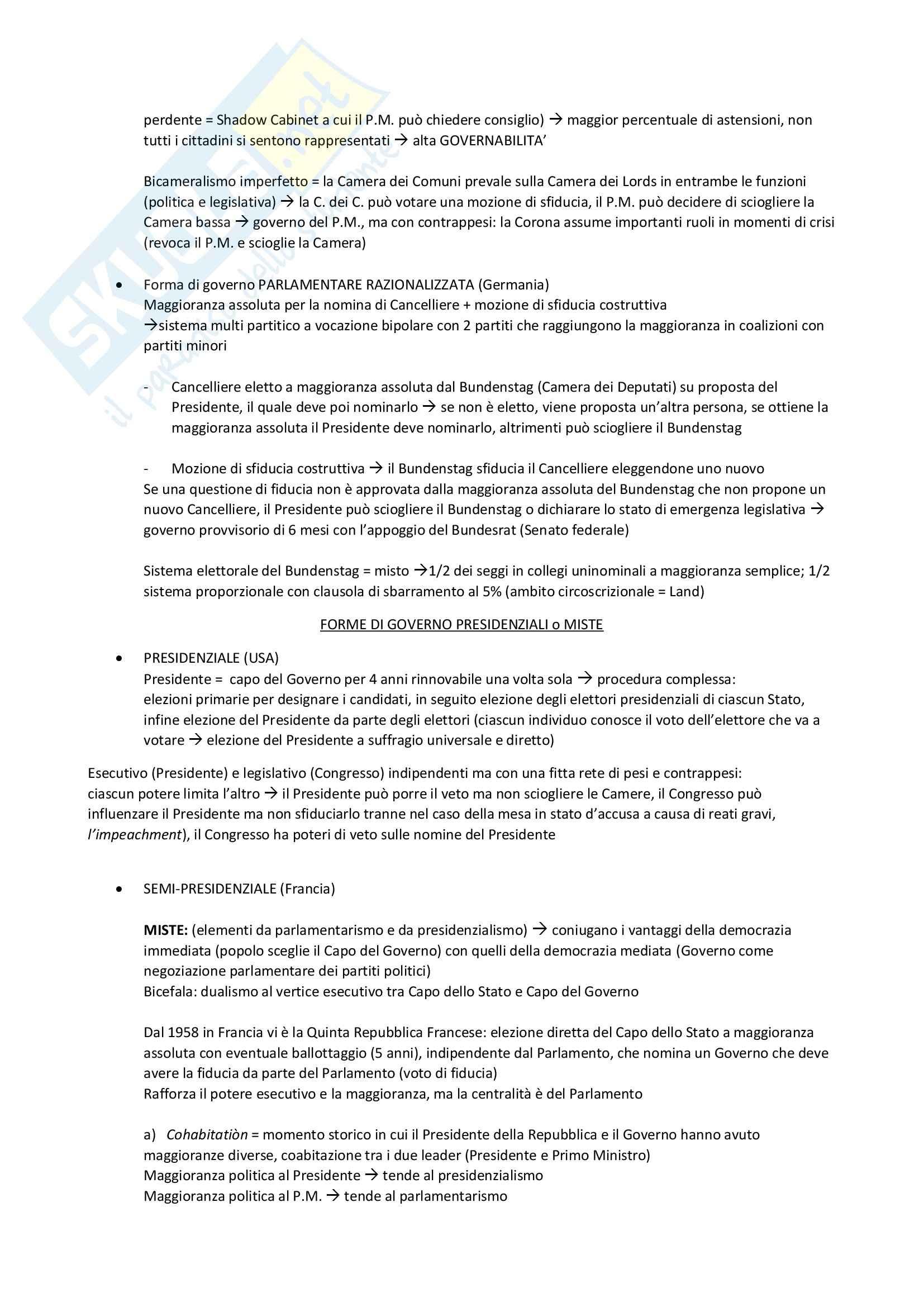 Riassunto esame Diritto Costituzionale, prof. D'Amico Pag. 11