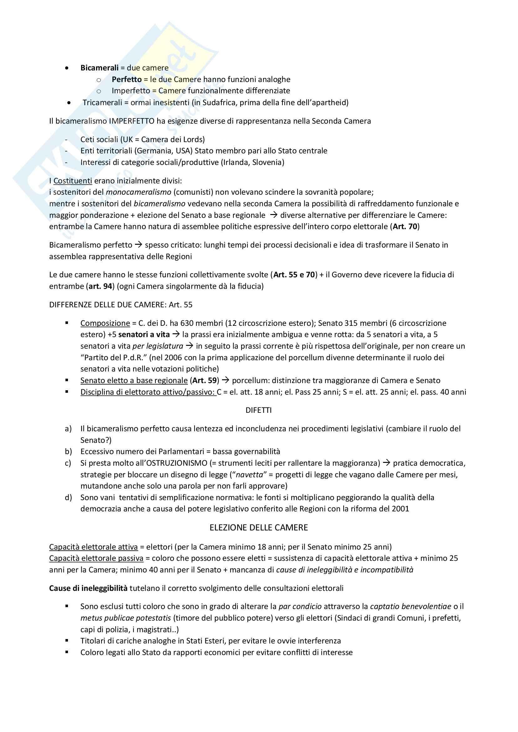 Riassunto esame Diritto Costituzionale, prof. D'Amico Pag. 26