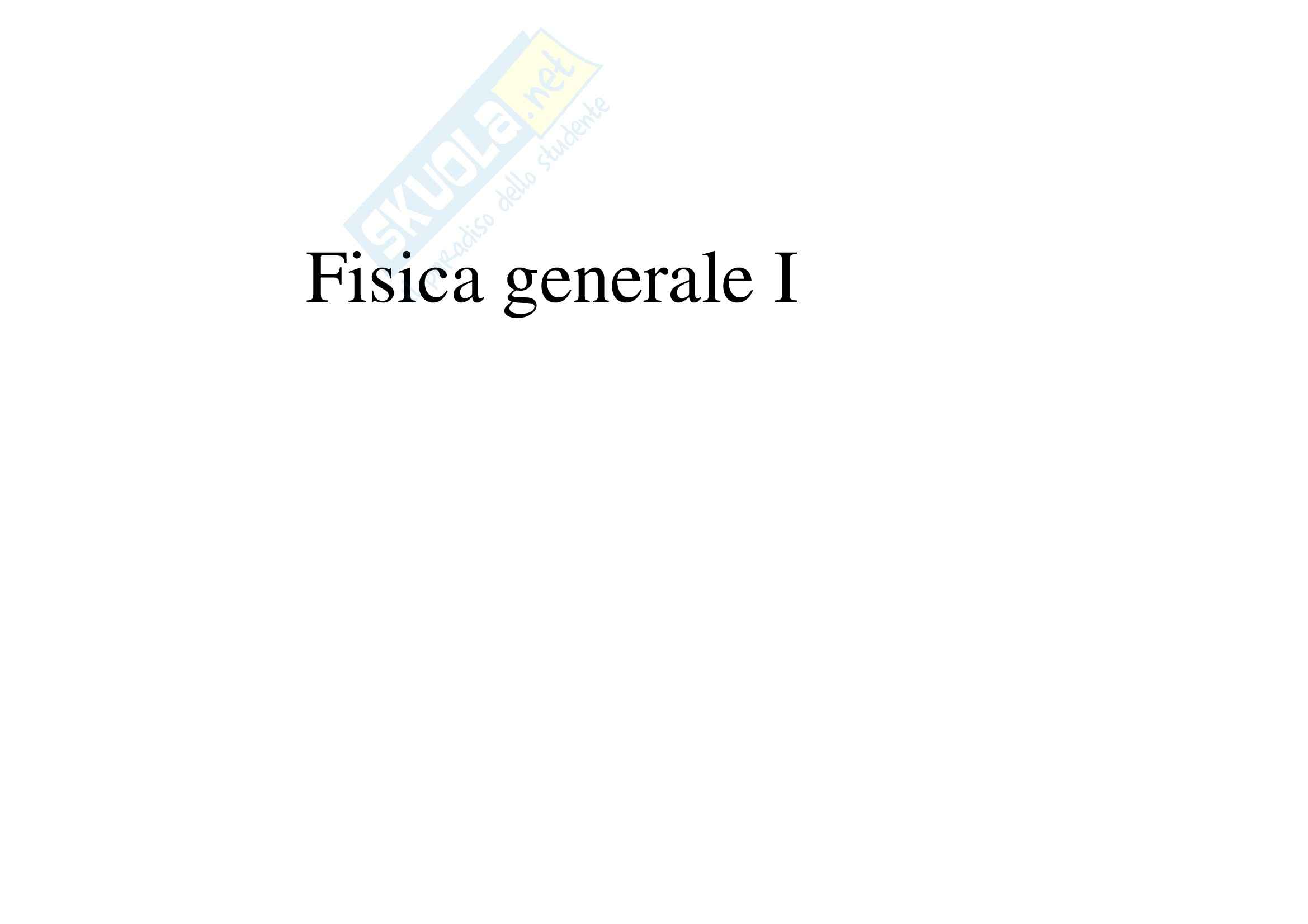 dispensa G. Peluso Fisica I
