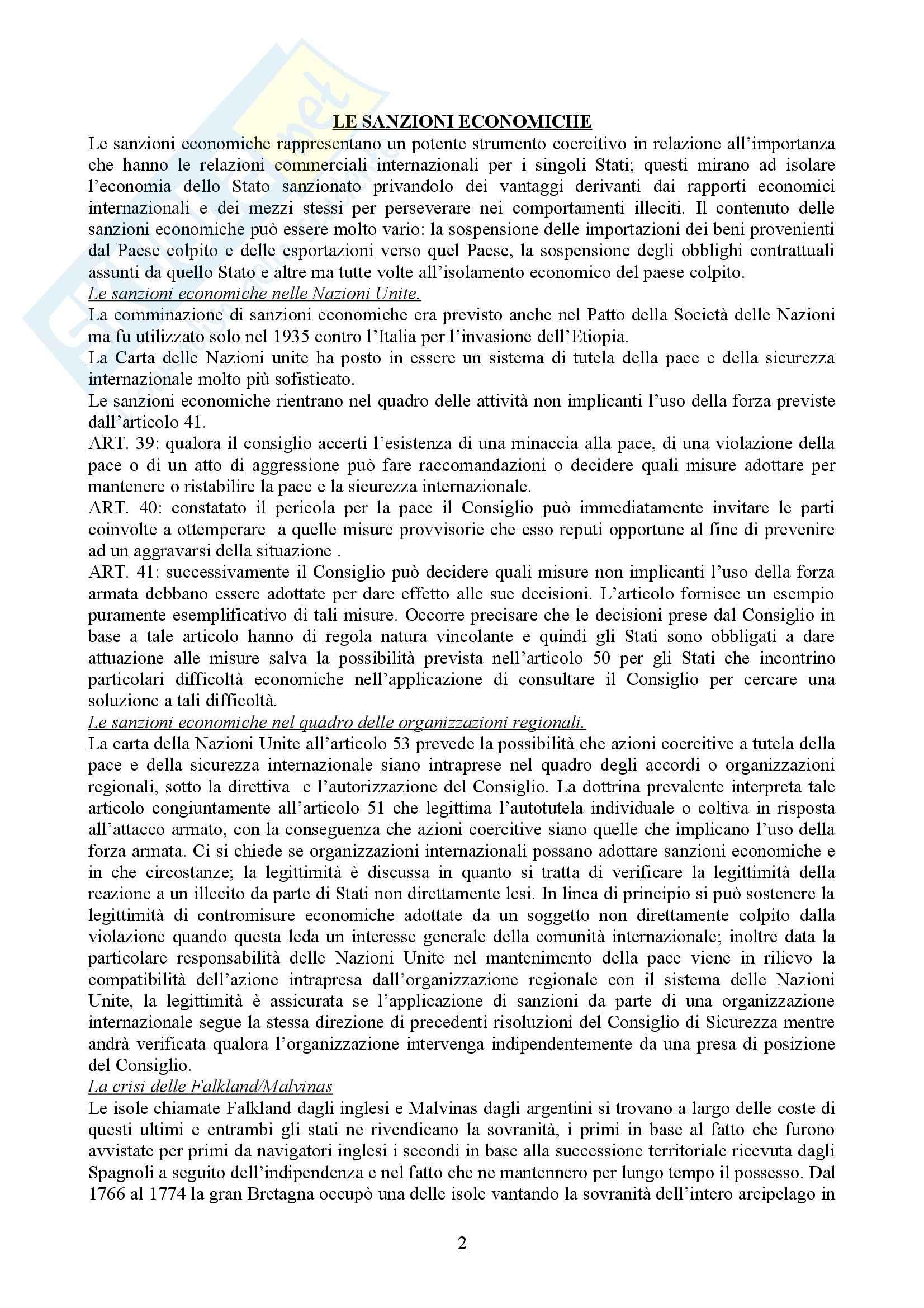 Diritto Internazionale - lezioni parte seconda Pag. 2