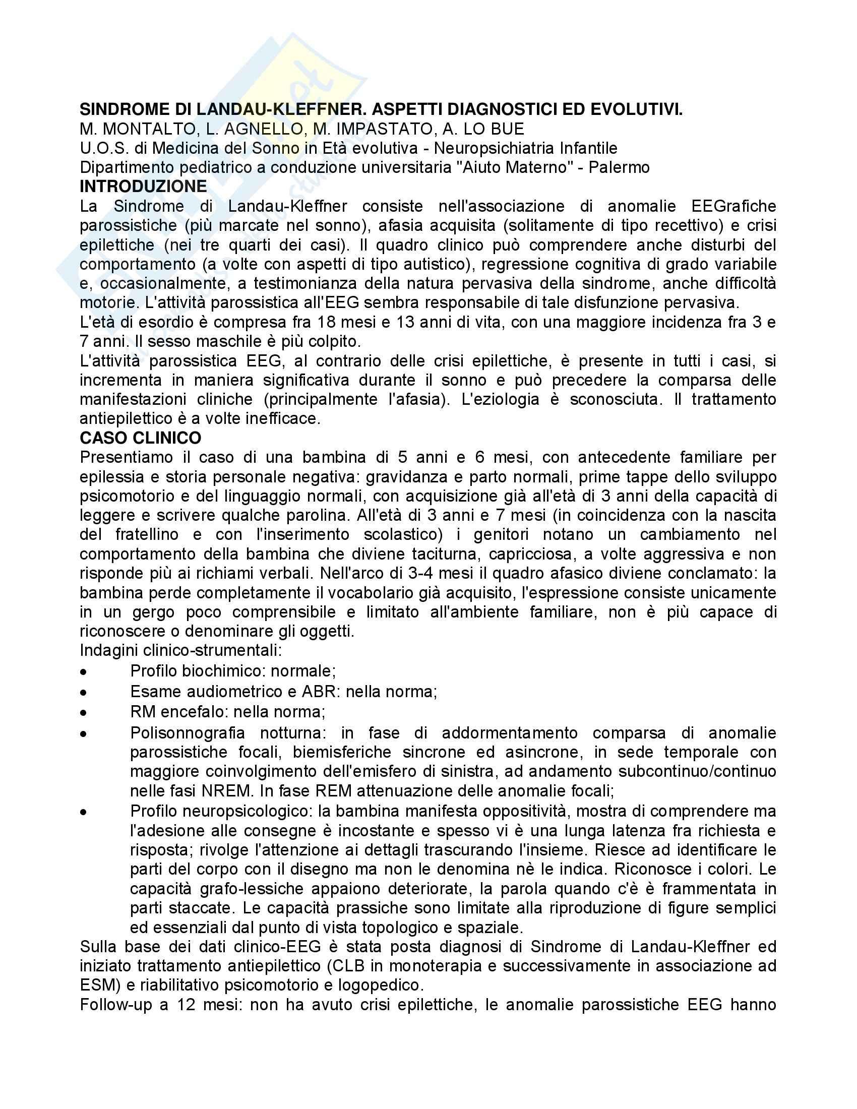 appunto A. Caratozzolo Psicologia del linguaggio e della comunicazione