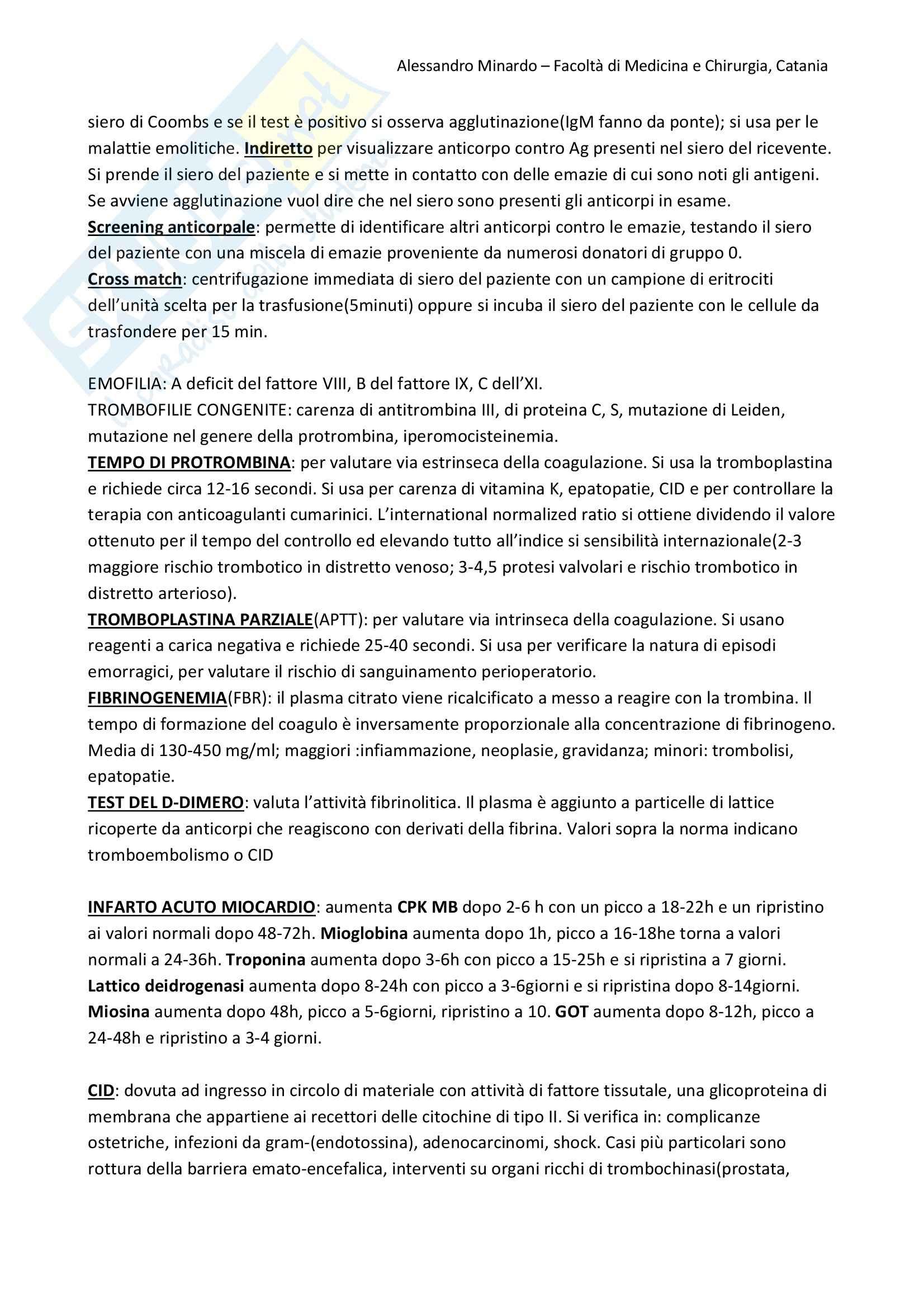 Biochimica  e Patologia clinica - Appunti Pag. 26
