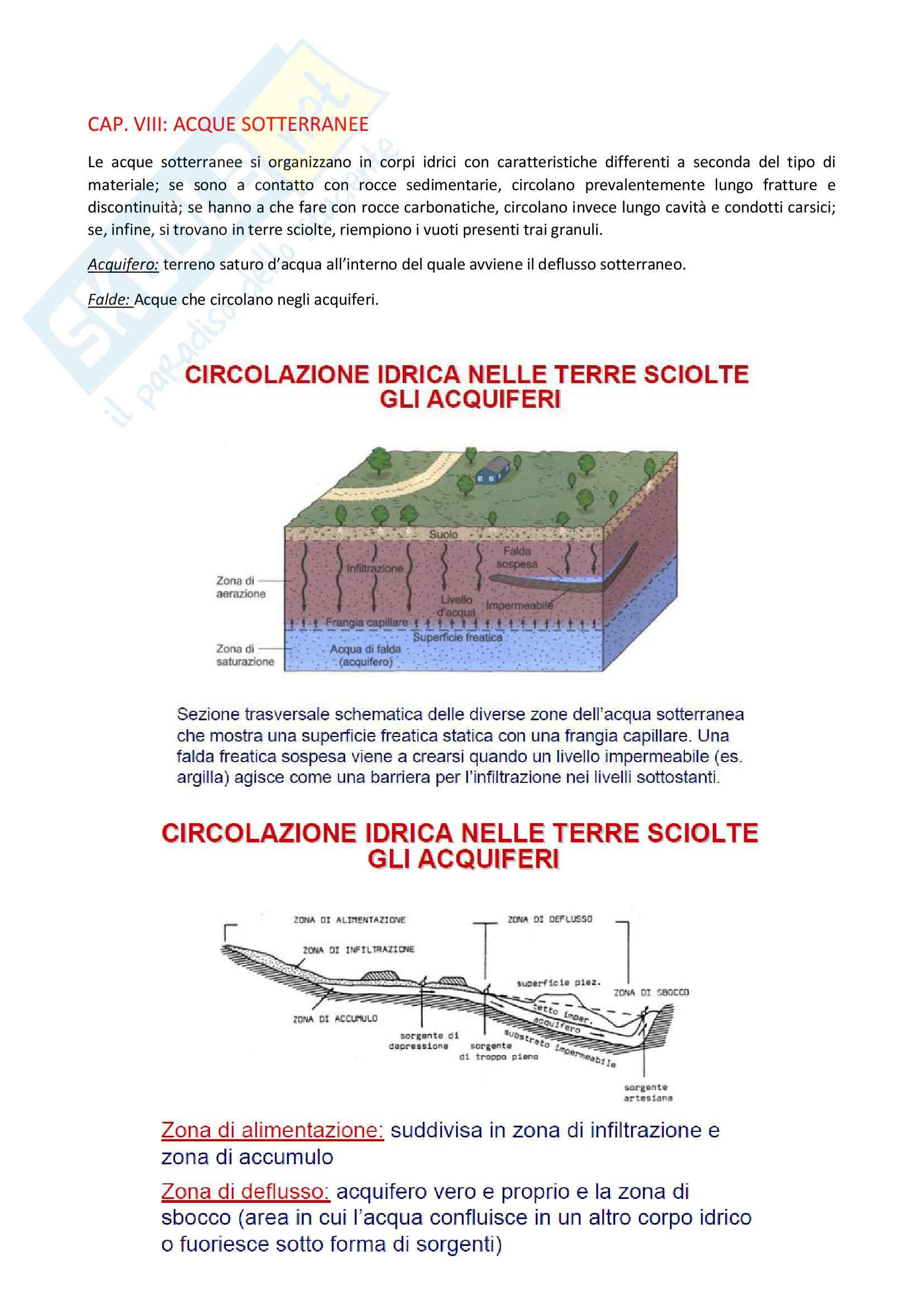 Elementi di geologia e geomorfologia - appunti Pag. 36
