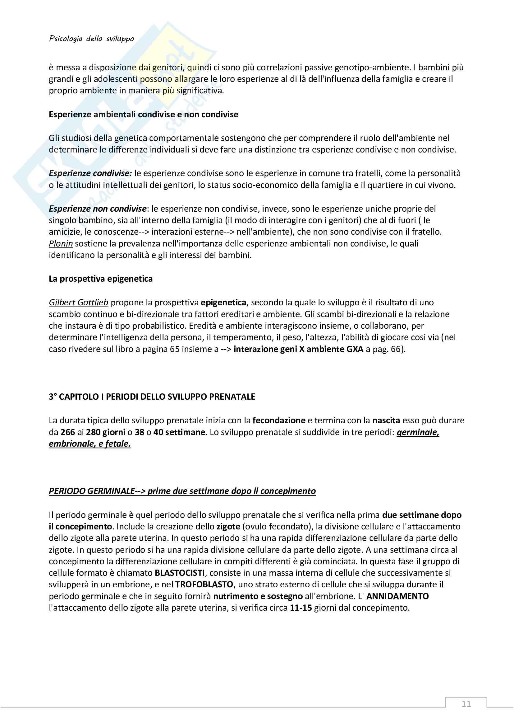 Riassunto esame Psicologia dello sviluppo Pag. 11