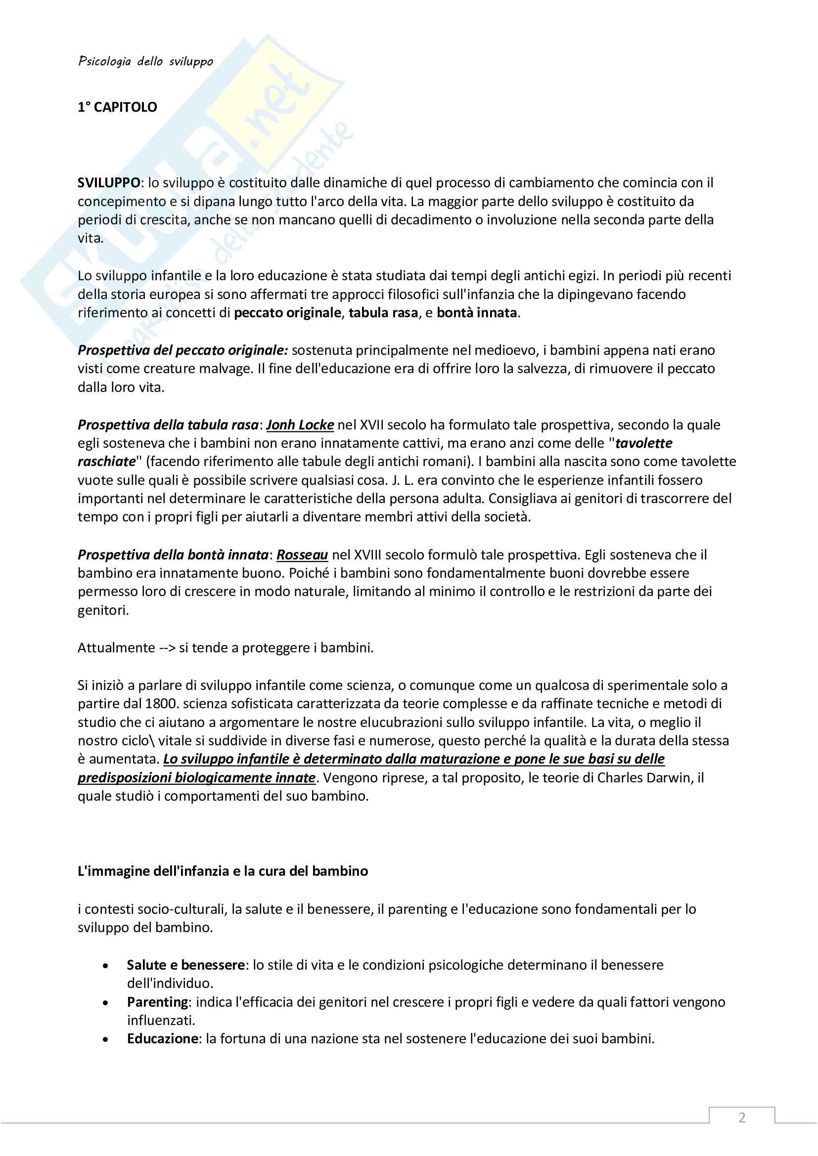 Riassunto esame Psicologia dello sviluppo Pag. 2
