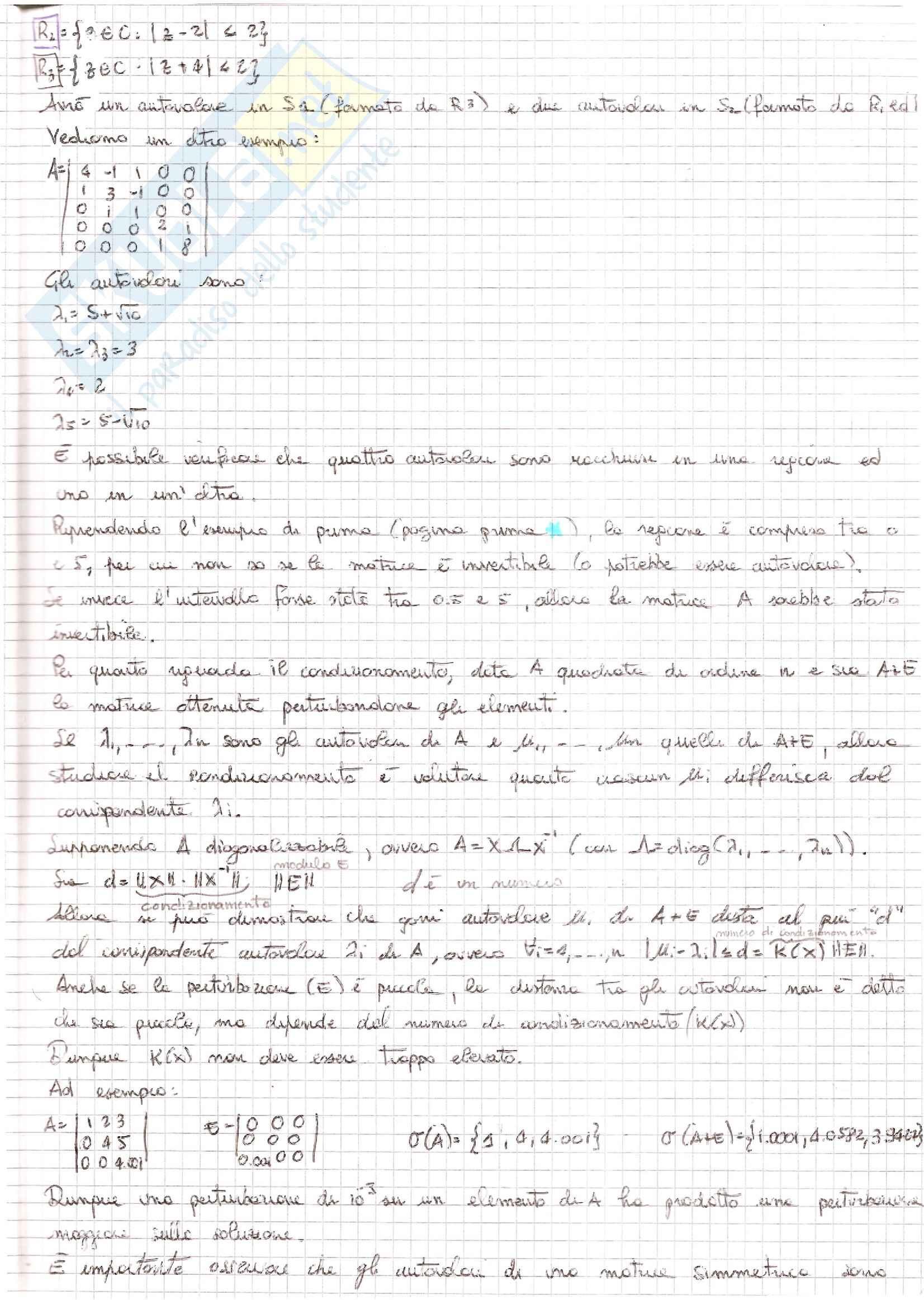 Metodi Numerici per l'Ingegneria  - Appunti Pag. 141