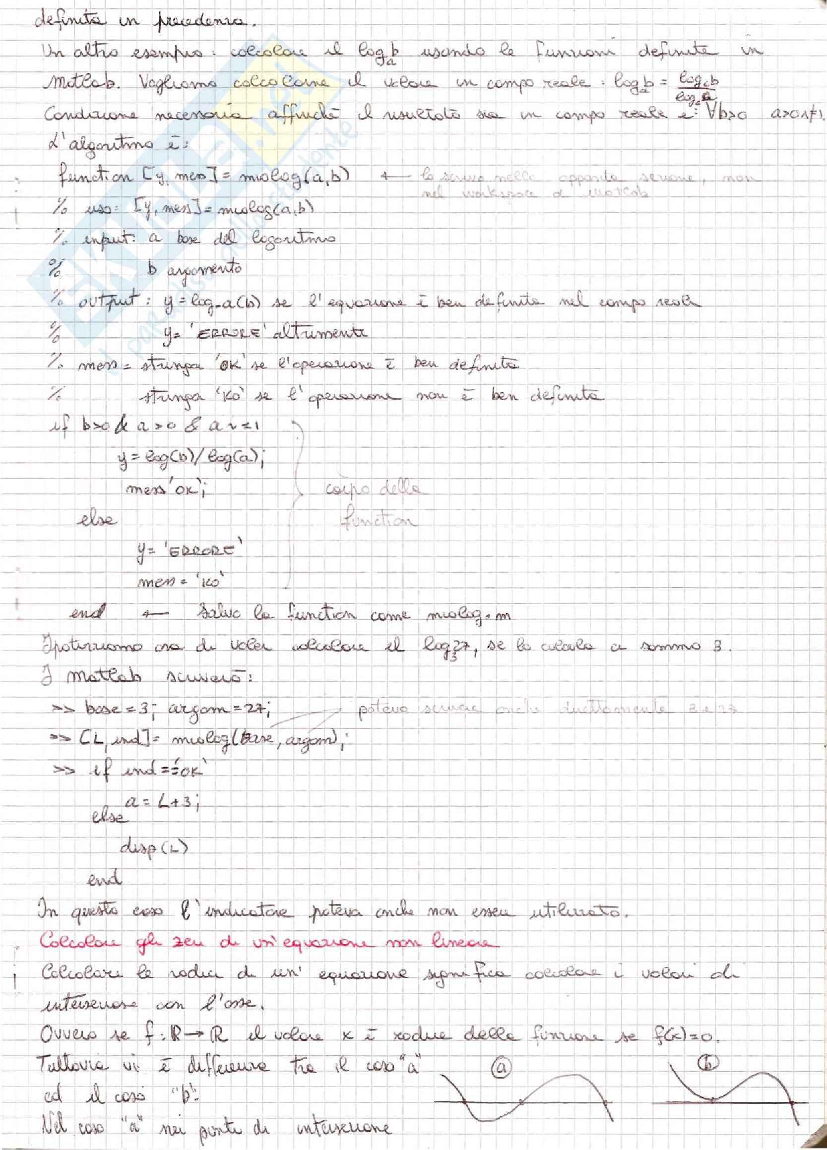Metodi Numerici per l'Ingegneria  - Appunti Pag. 41
