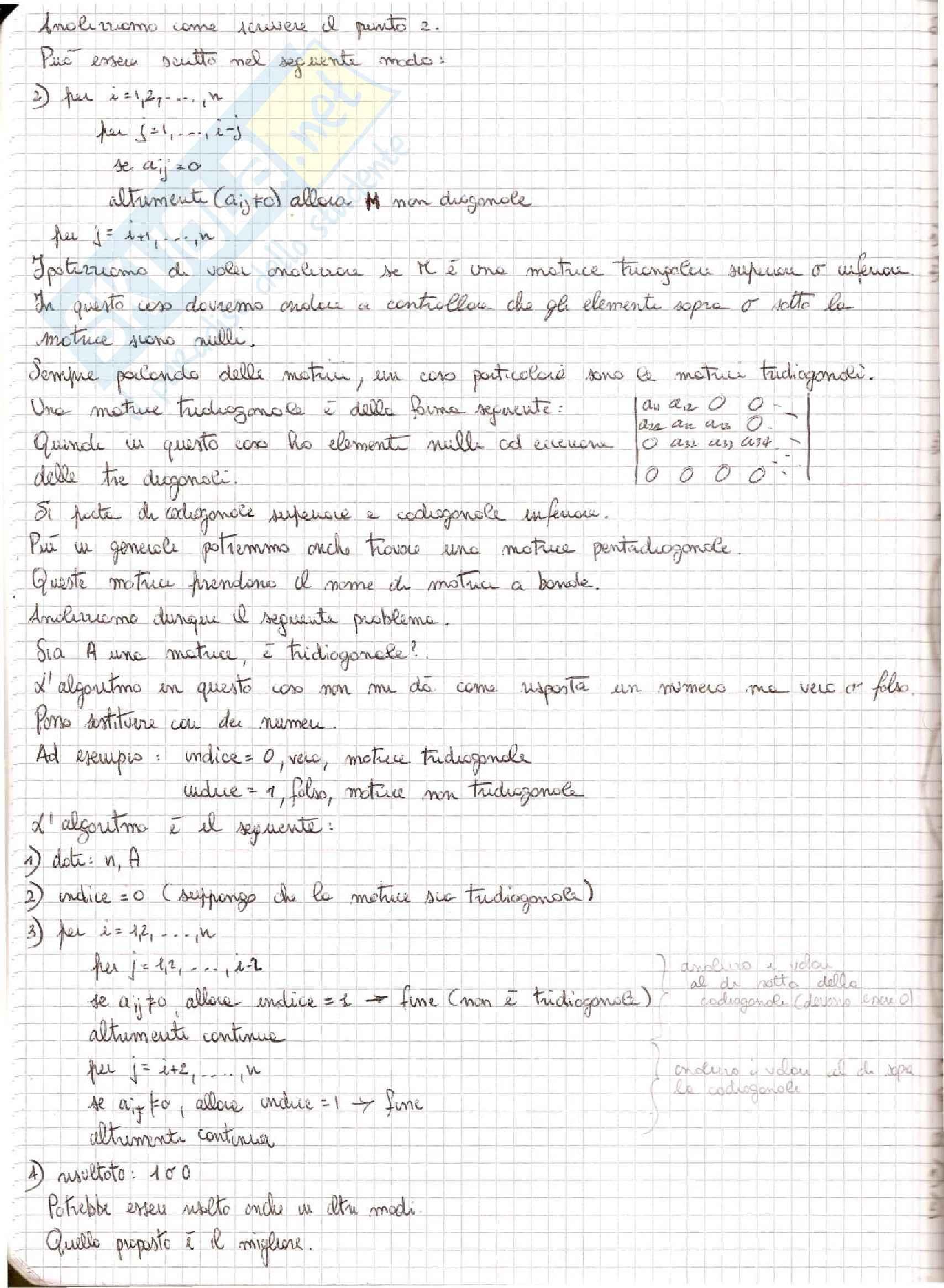 Metodi Numerici per l'Ingegneria  - Appunti Pag. 6