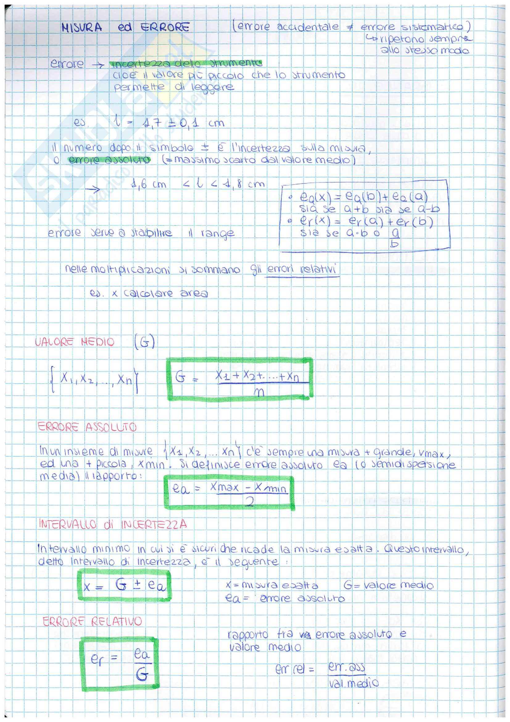 Appunti di Fisica 1 Parte Pag. 2