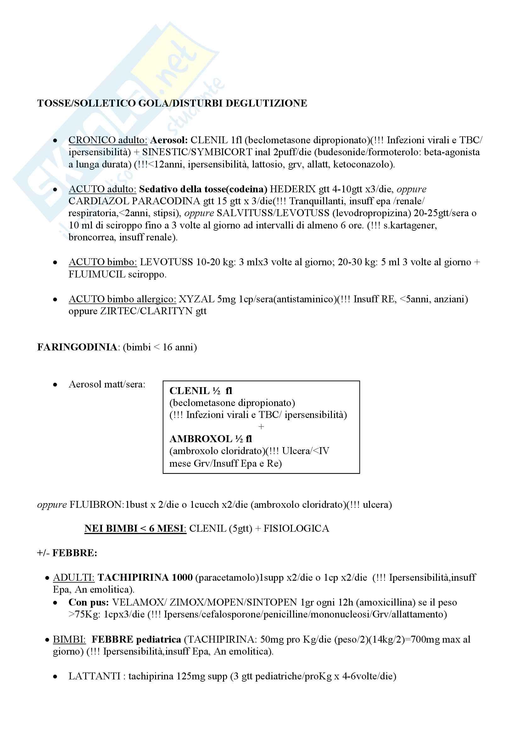 Schemi di Farmacologia Pag. 2