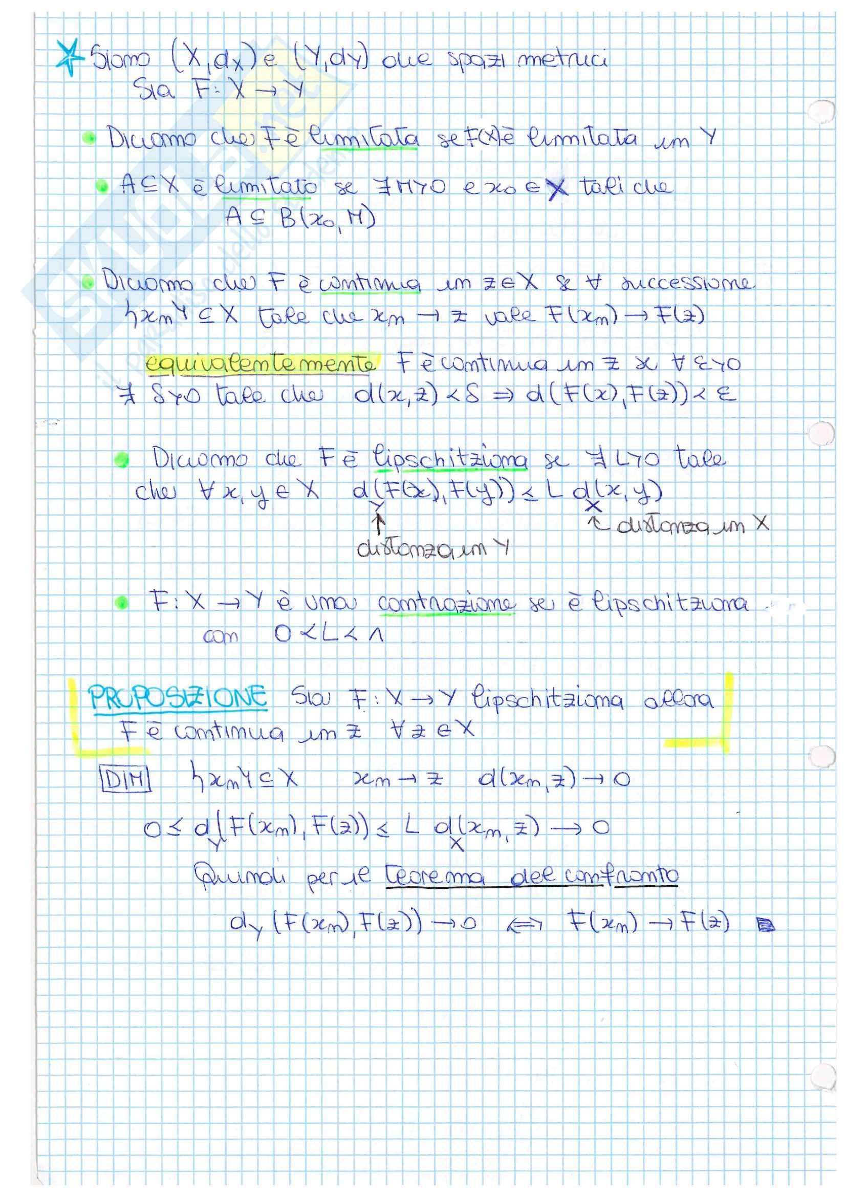Teoria della misura (Lebesgue) e problemi di Cauchy - appunti ed esercitazioni Pag. 6