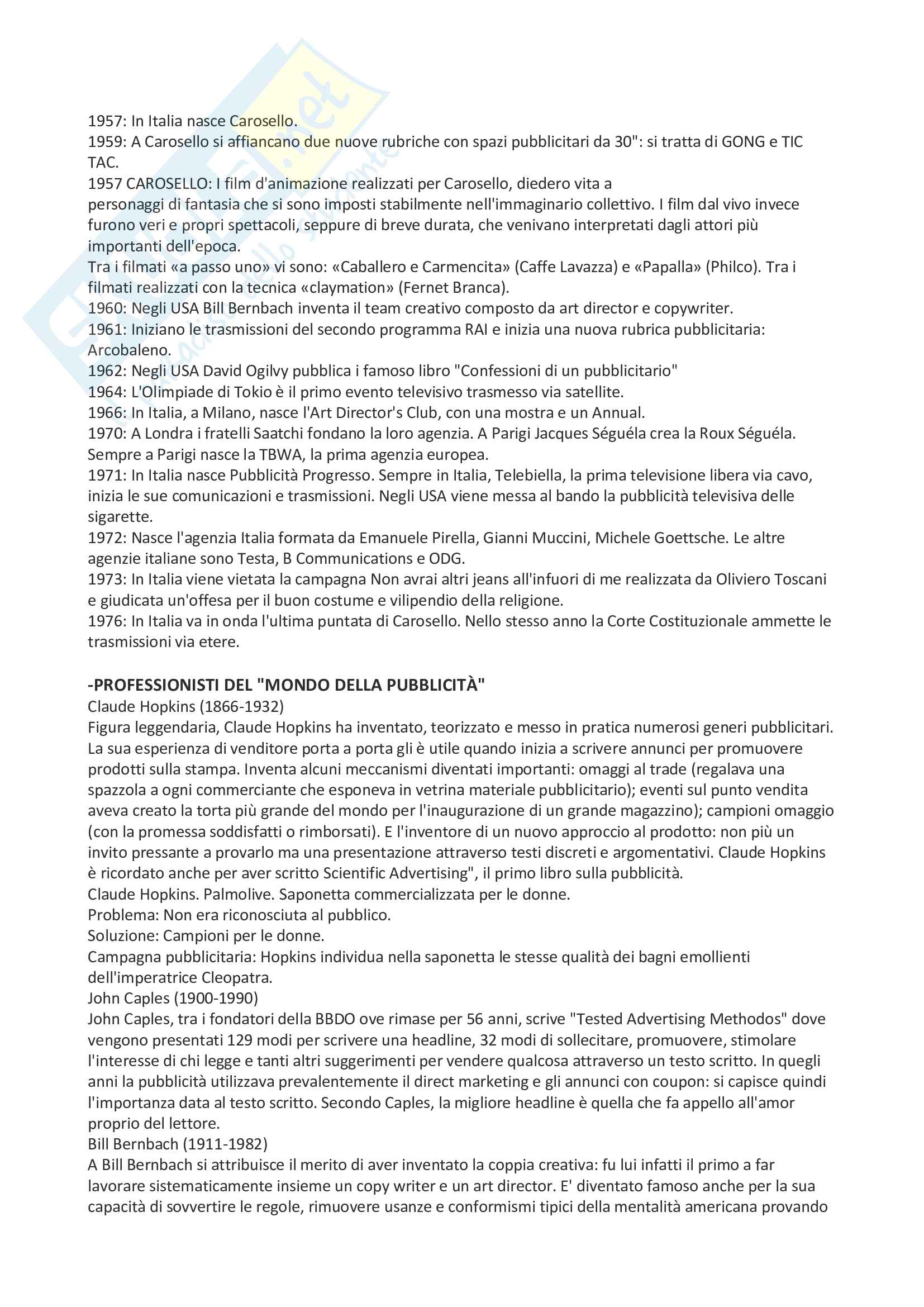 Riassunto Strategie di comunicazione d'impresa Pag. 36