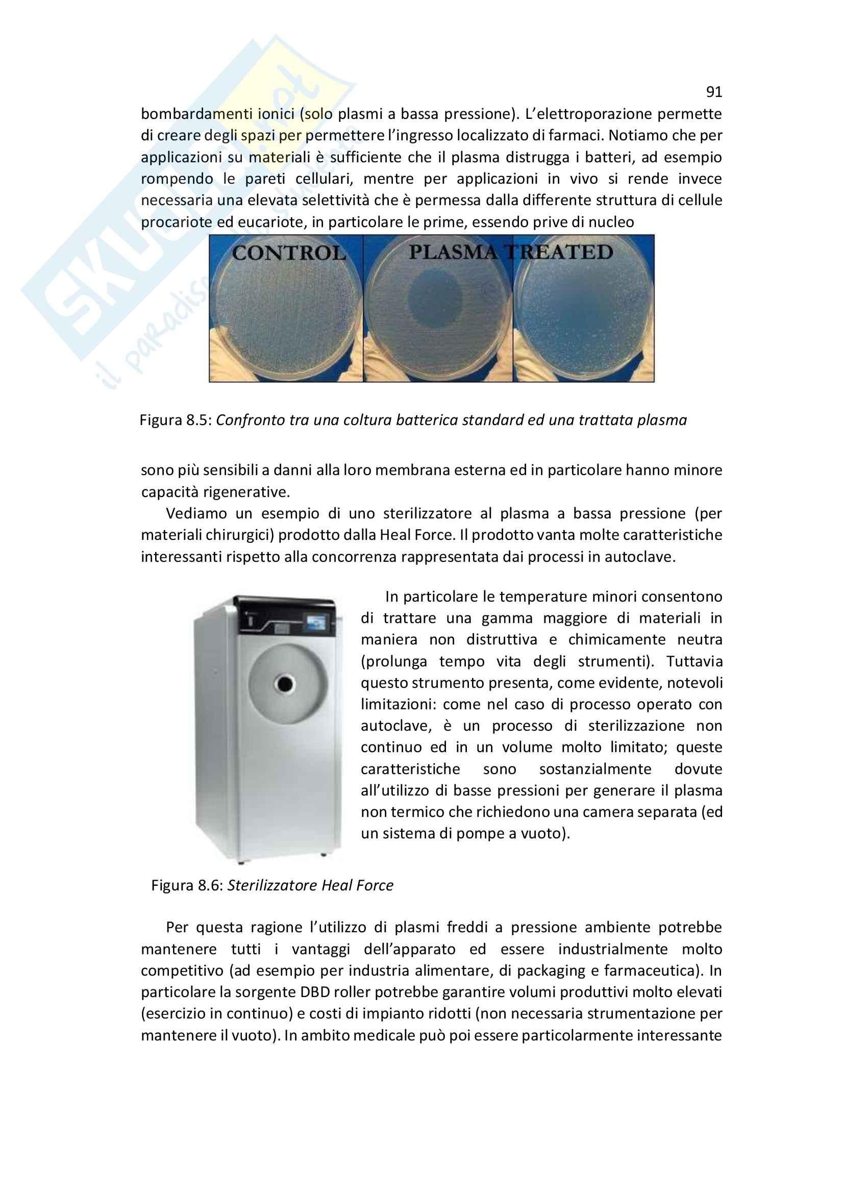 Lezioni, Applicazioni Industriali dei Plasmi Pag. 91