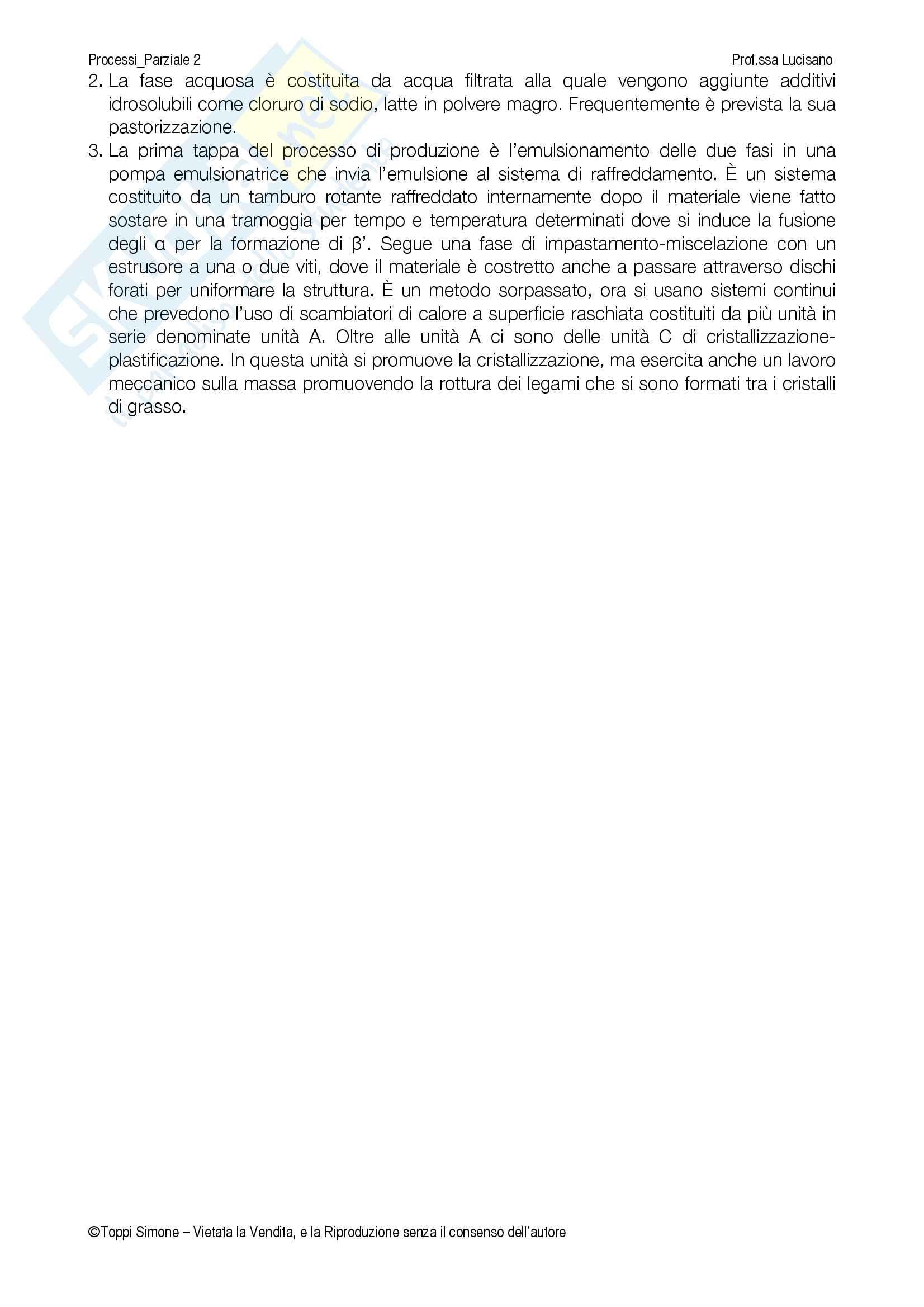 Processi della tecnologia alimentare Pag. 41