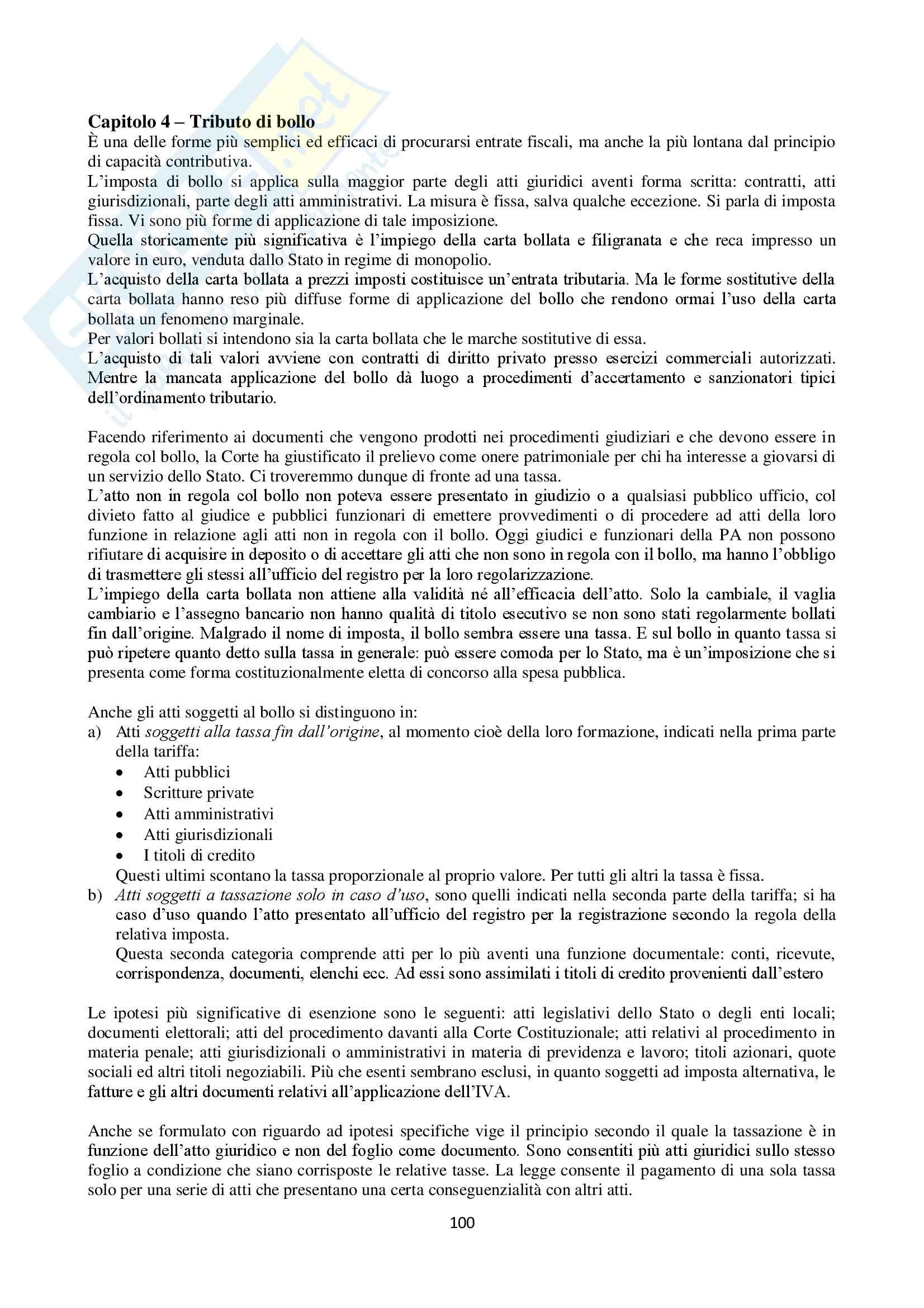 Appunti Diritto Tributario Pag. 101