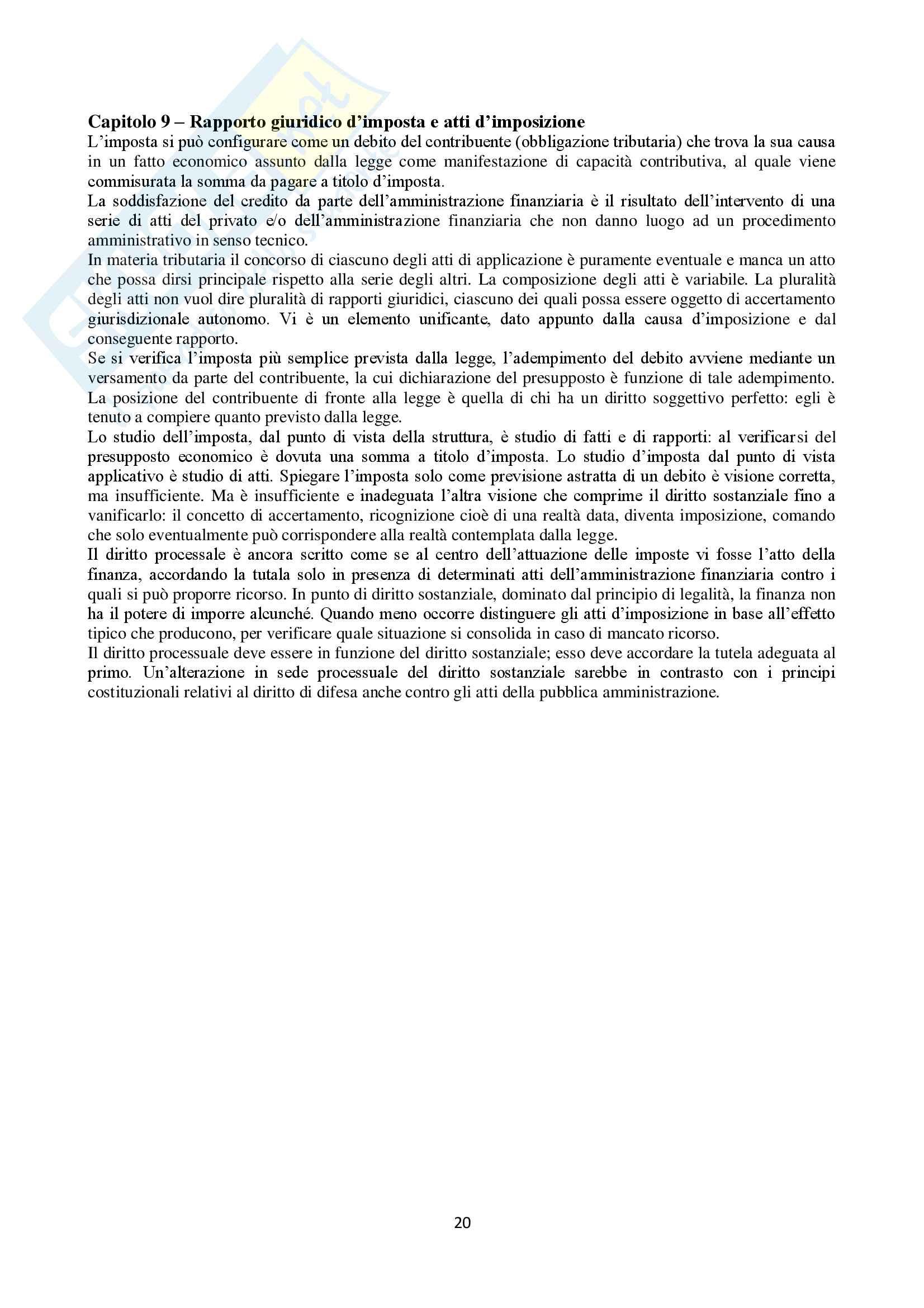 Appunti Diritto Tributario Pag. 21