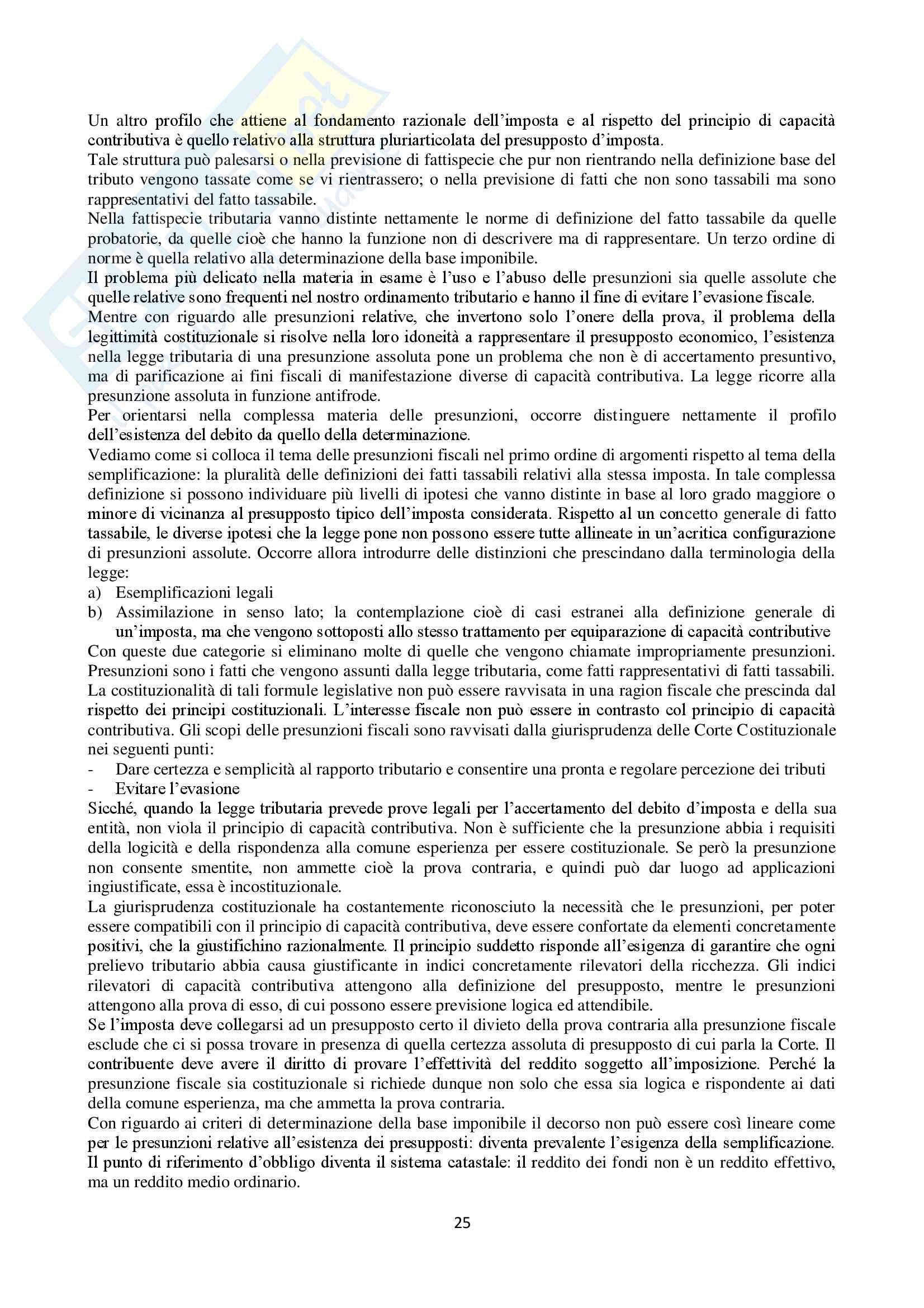 Appunti Diritto Tributario Pag. 26