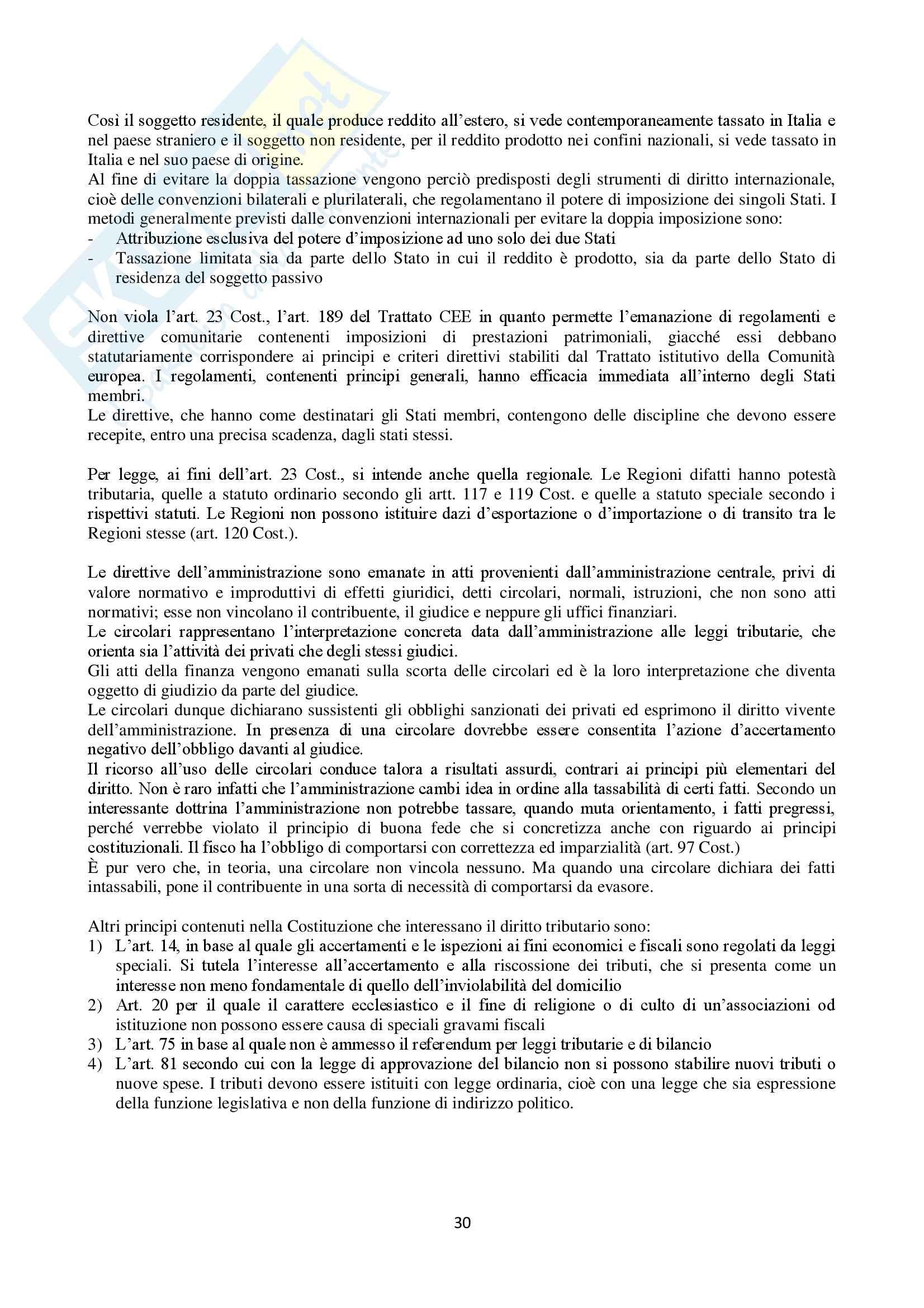Appunti Diritto Tributario Pag. 31