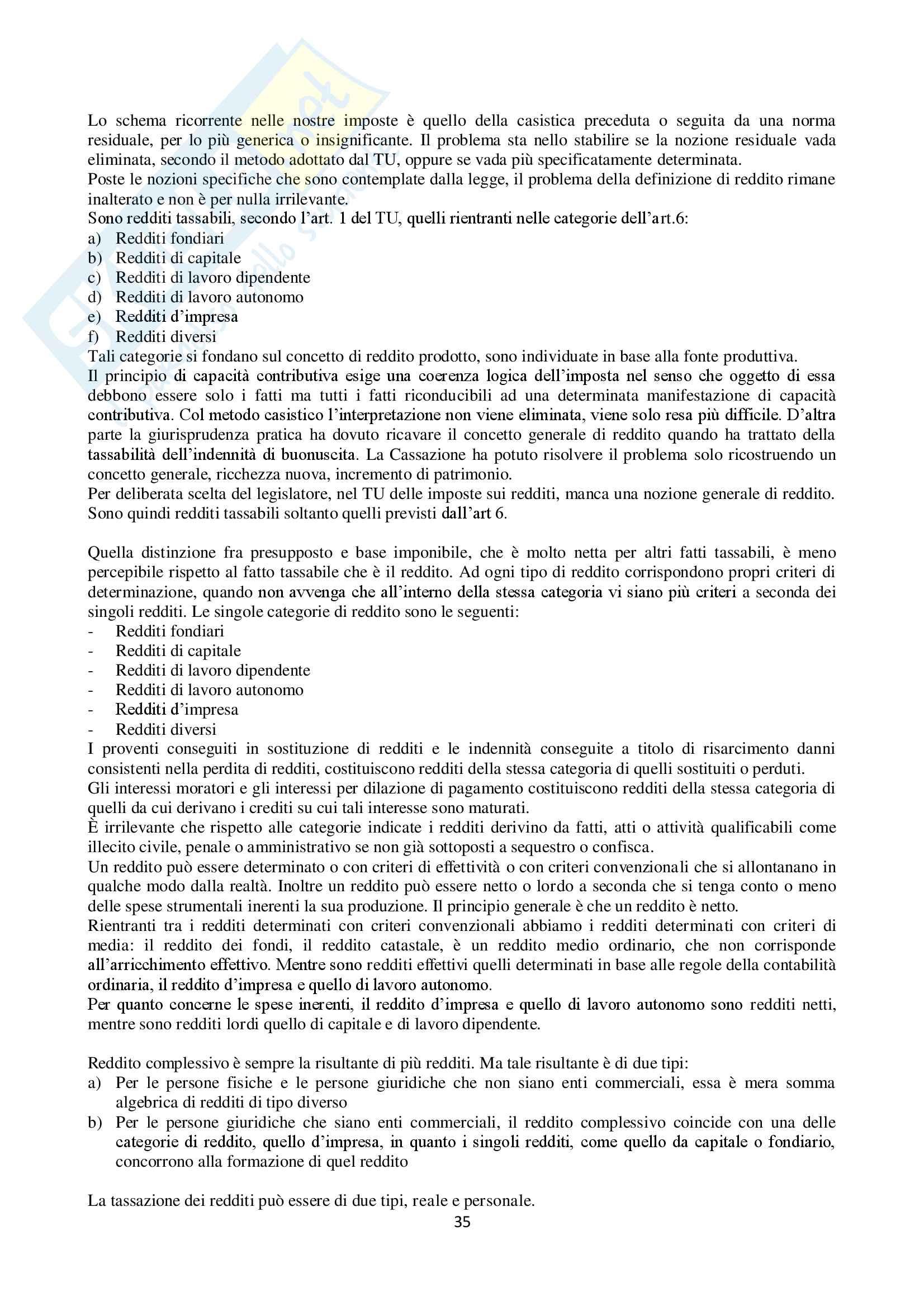 Appunti Diritto Tributario Pag. 36