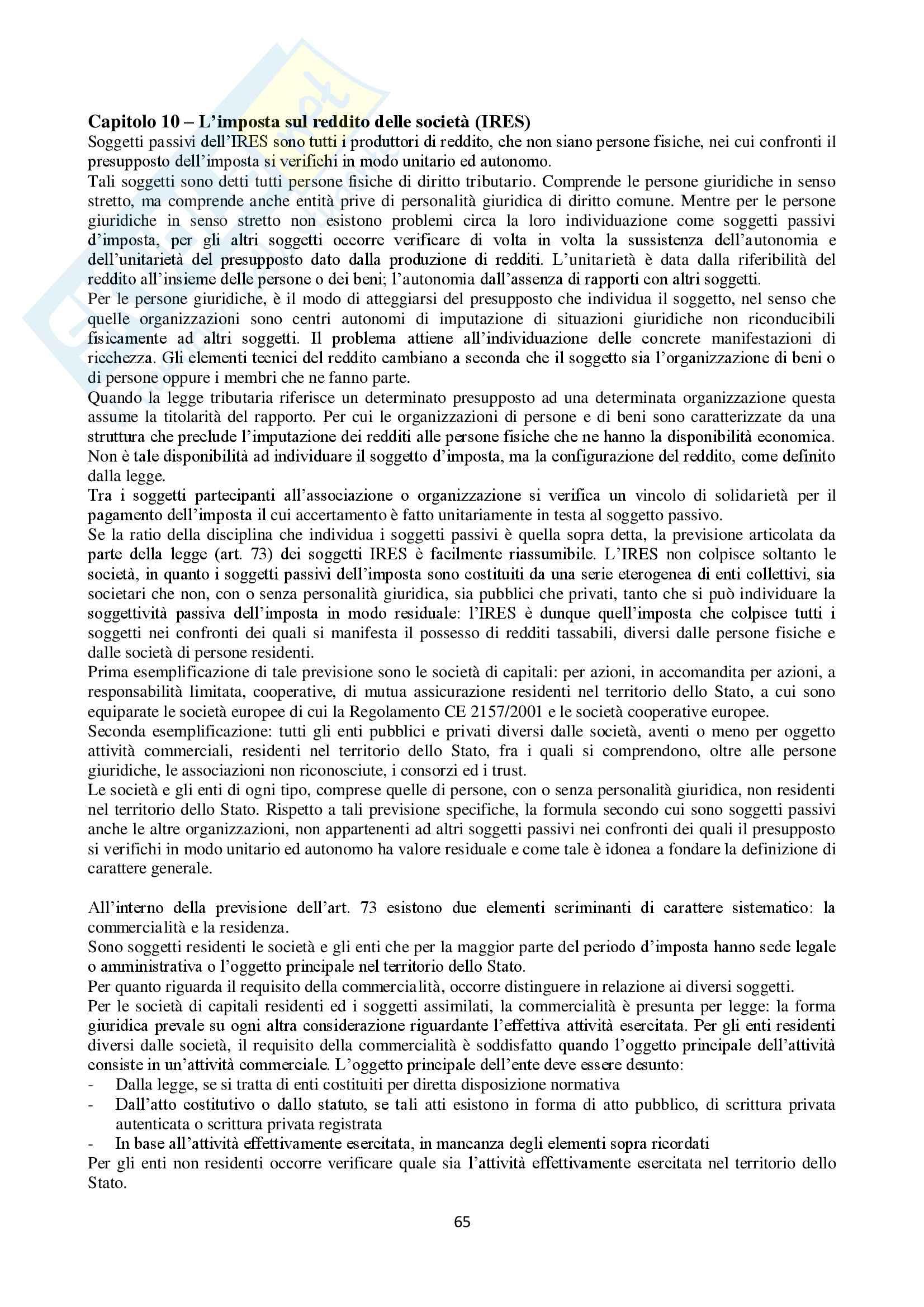 Appunti Diritto Tributario Pag. 66