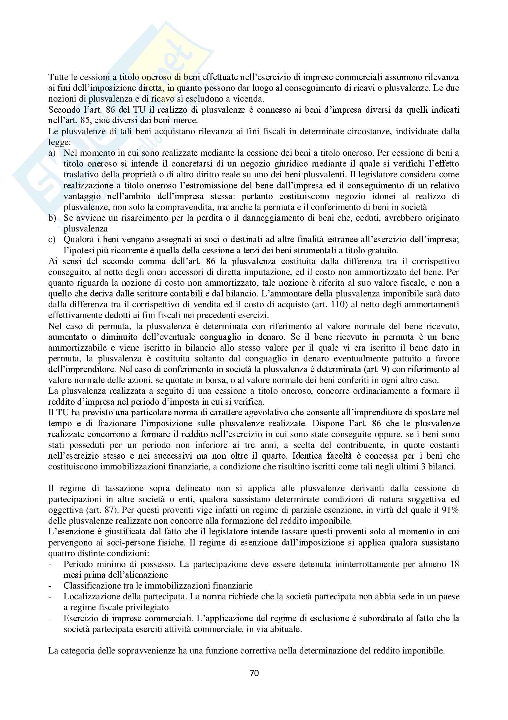 Appunti Diritto Tributario Pag. 71