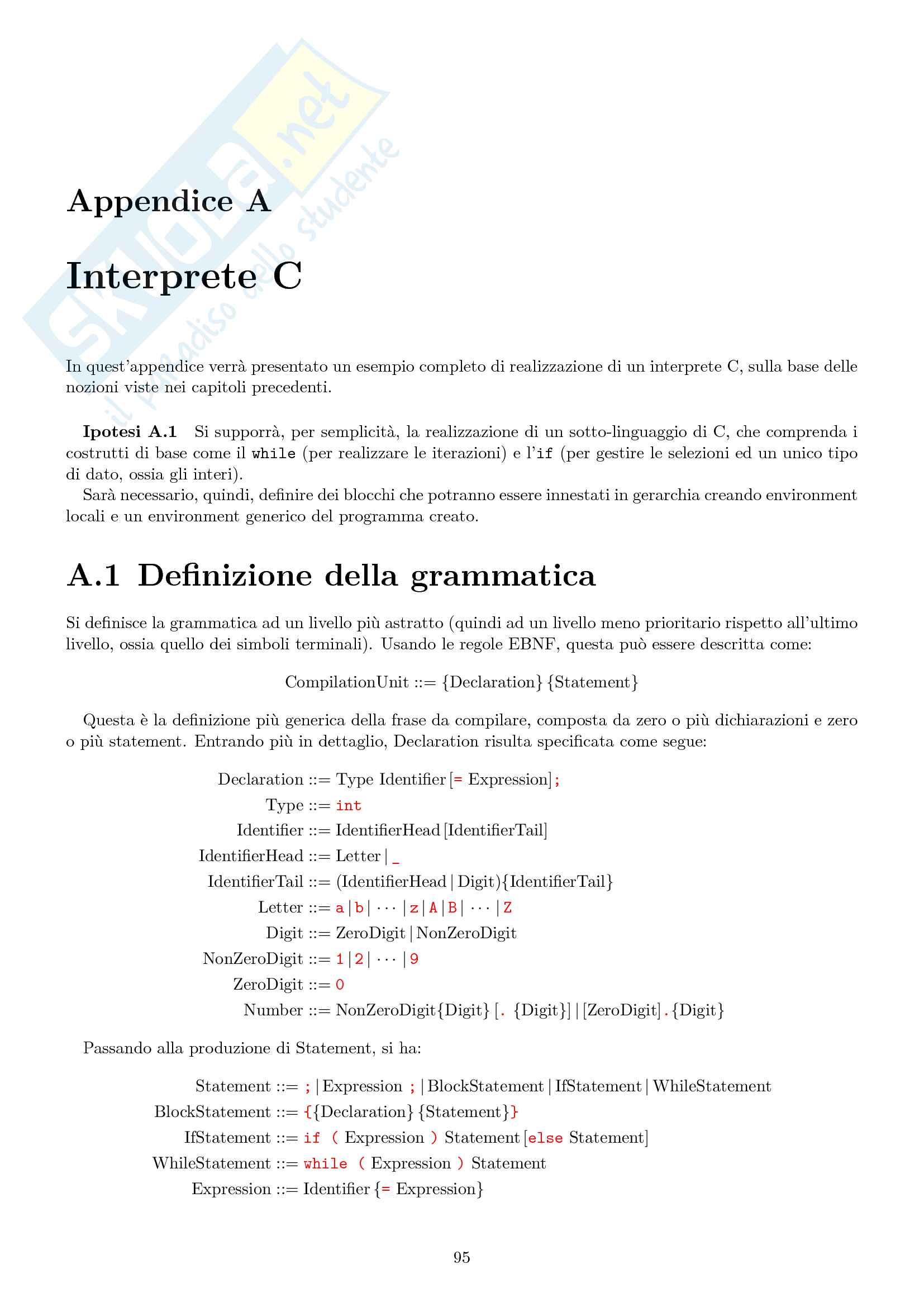 Appunti di Linguaggi e Modelli Computazionali Pag. 101