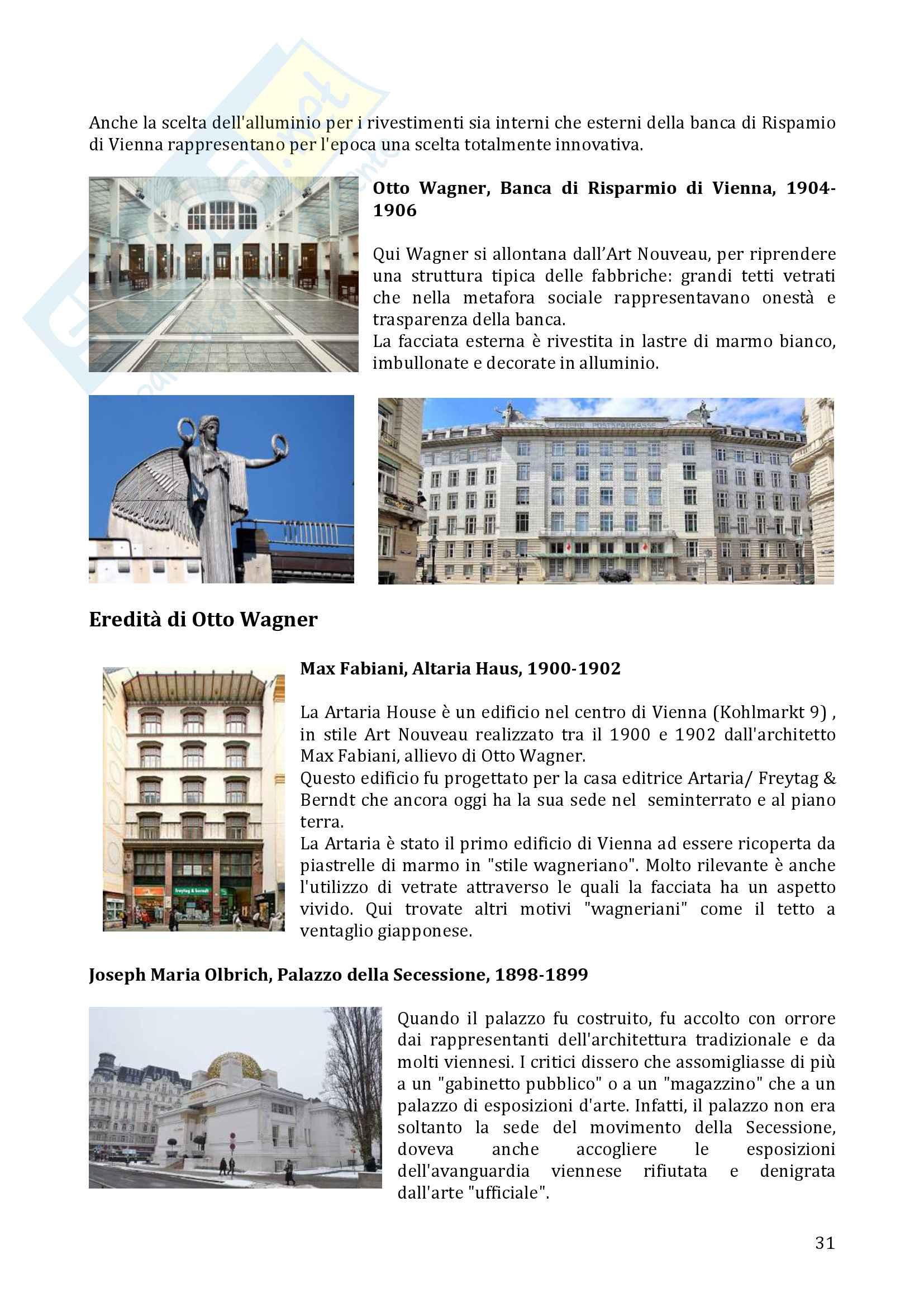 De Magistris, Esame di Storia dell'Architettura 2 Pag. 31
