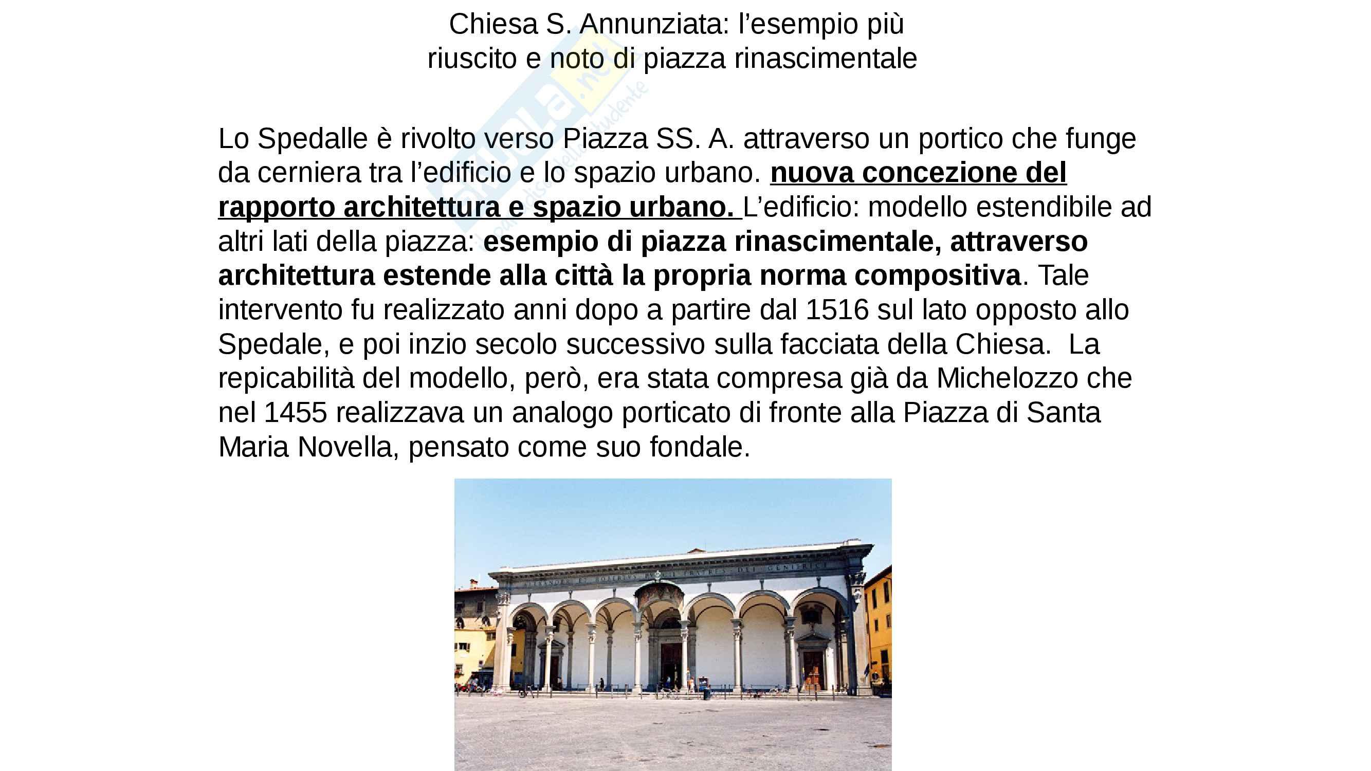 Lo Spedale degli Innocenti- Brunelleschi. completo con IMMAGINI, facile memorizzazione Pag. 2