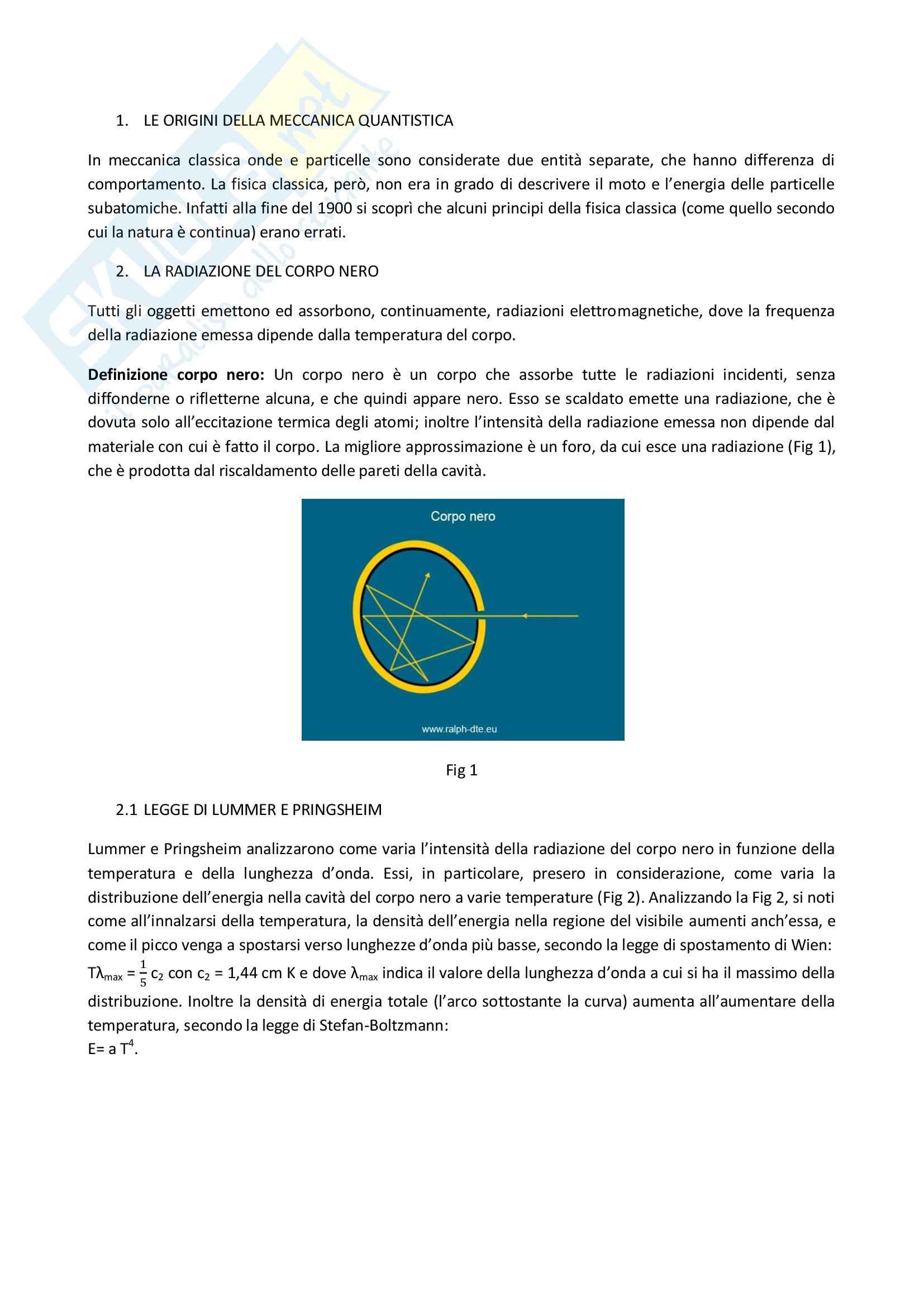 Fisica generale 1 - il corpo nero