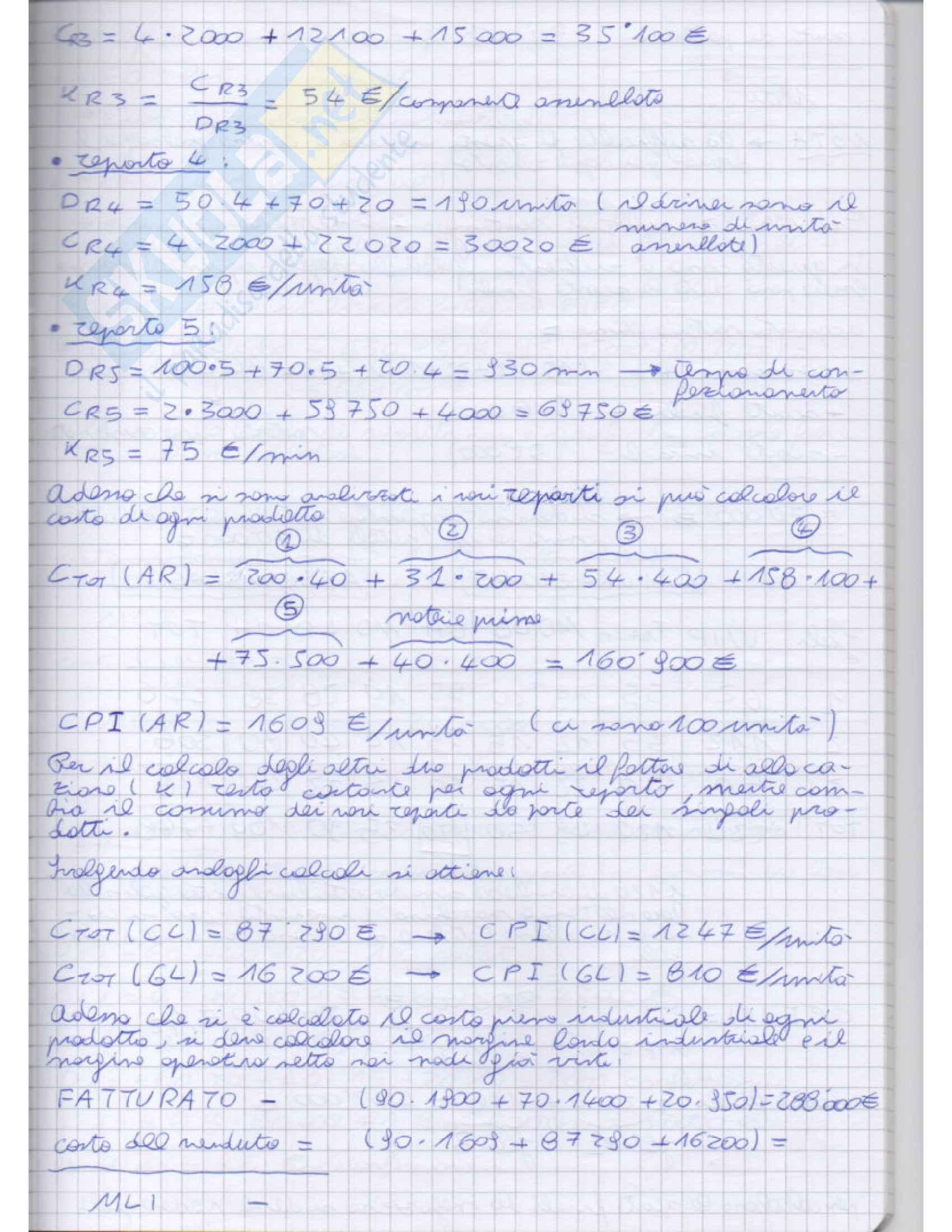 Impianti di produzone e organizzazione di impresa - Appunti Pag. 31