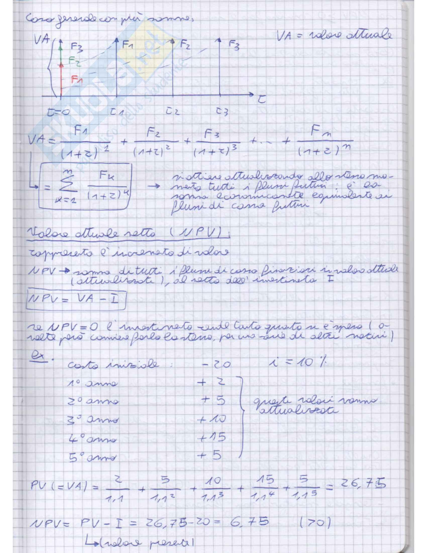 Impianti di produzone e organizzazione di impresa - Appunti Pag. 41