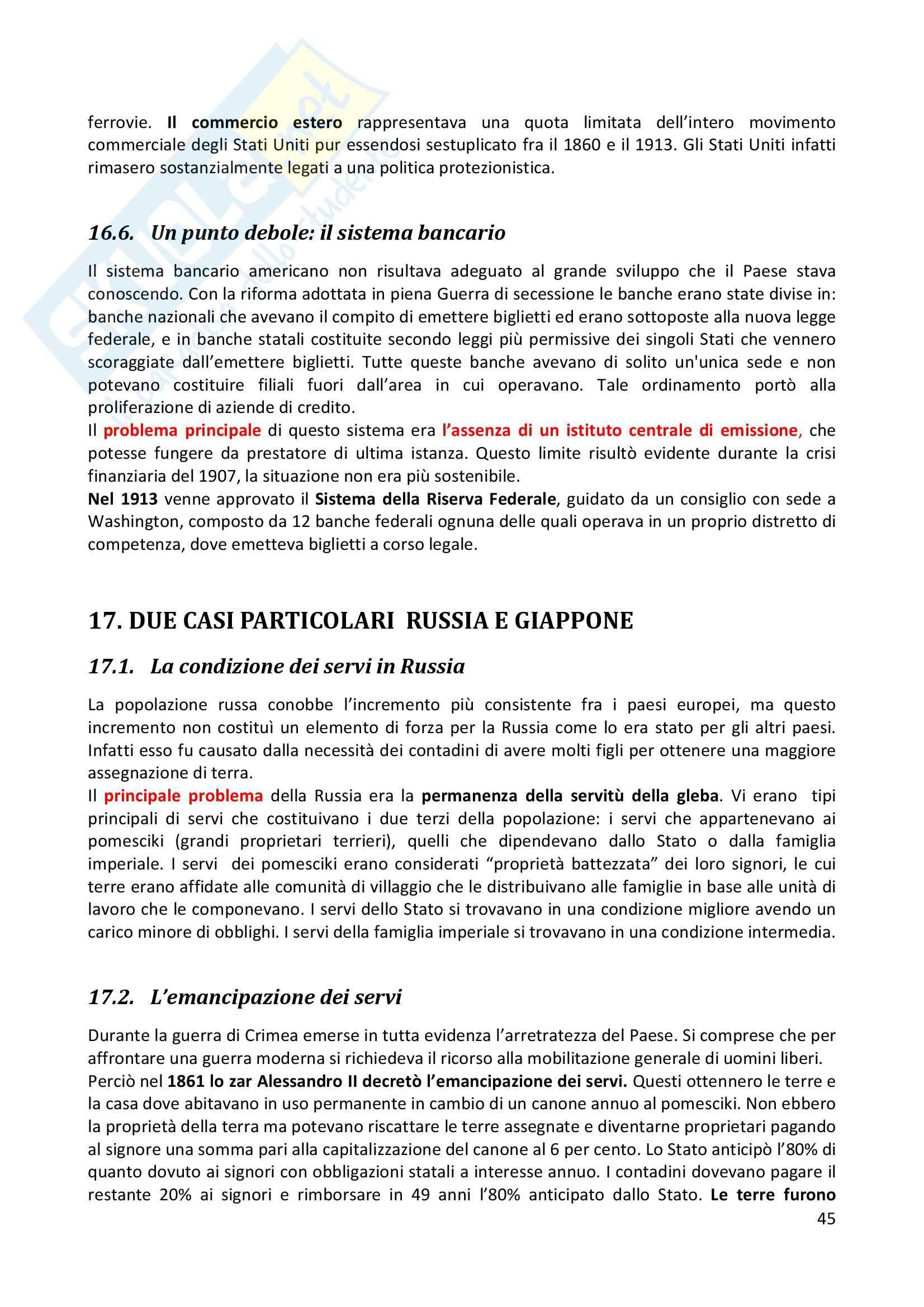 Riassunto esame completo per paragrafi- Storia Economica De Simone, prof. Di Taranto Pag. 46