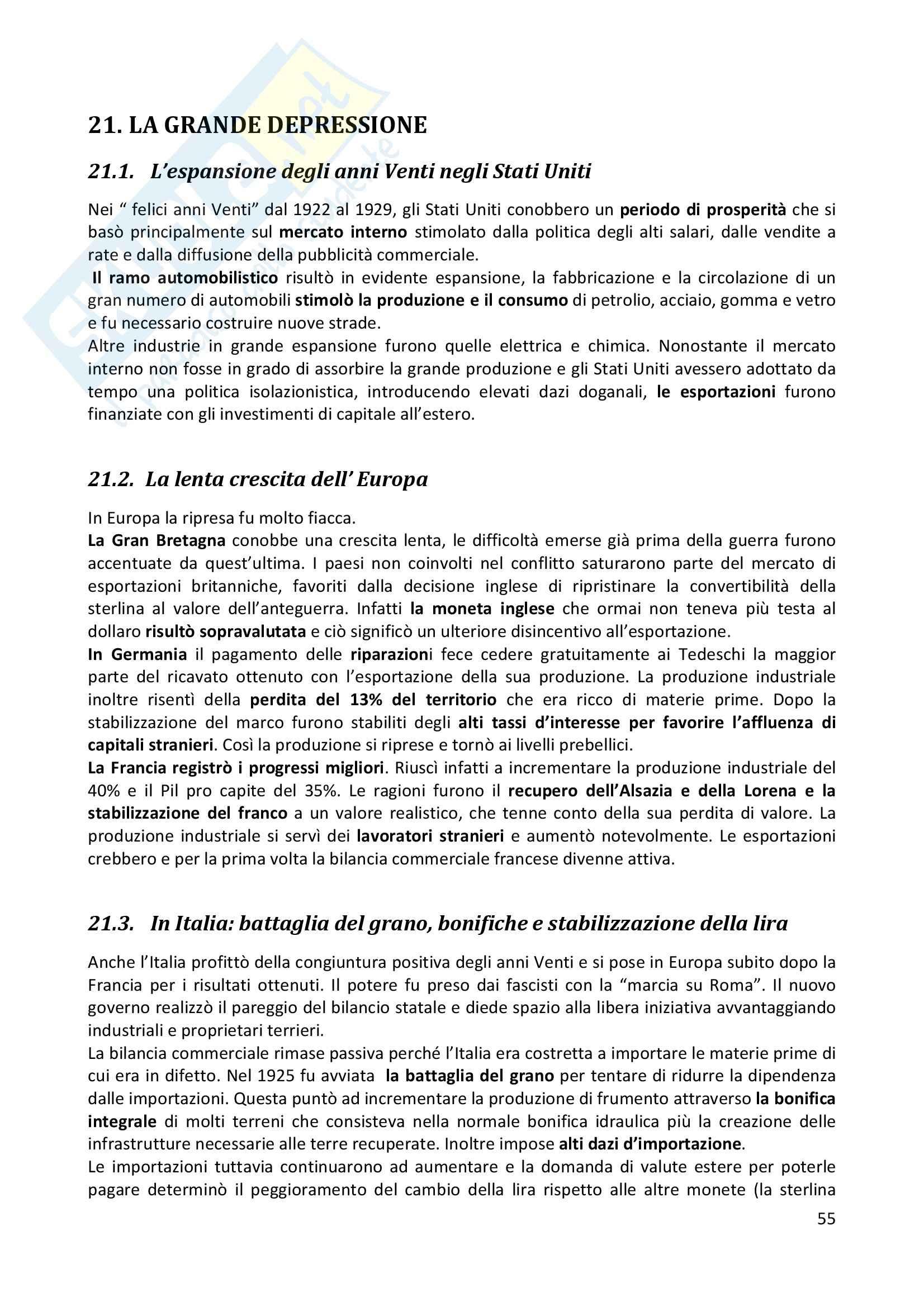 Riassunto esame completo per paragrafi- Storia Economica De Simone, prof. Di Taranto Pag. 56