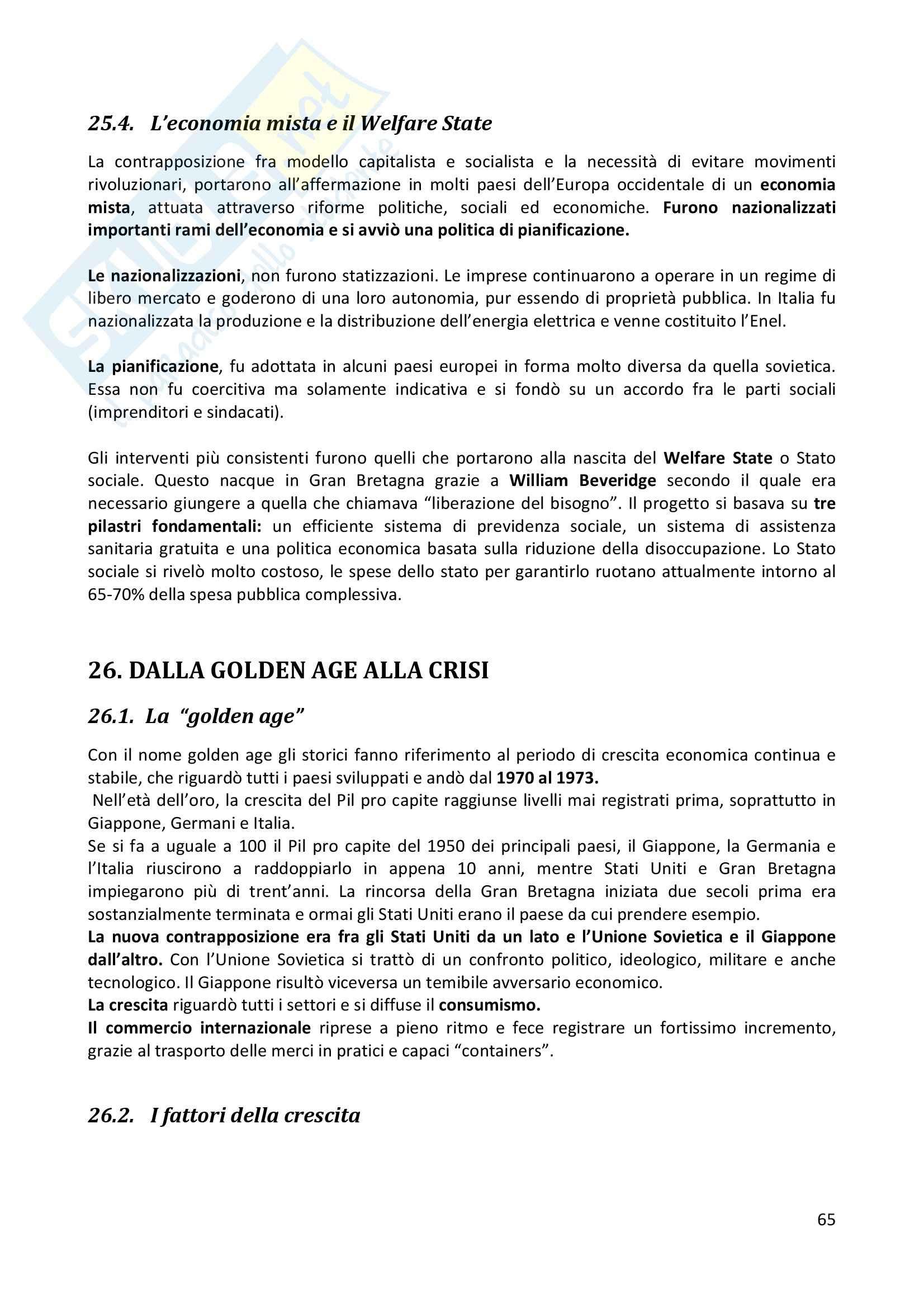 Riassunto esame completo per paragrafi- Storia Economica De Simone, prof. Di Taranto Pag. 66