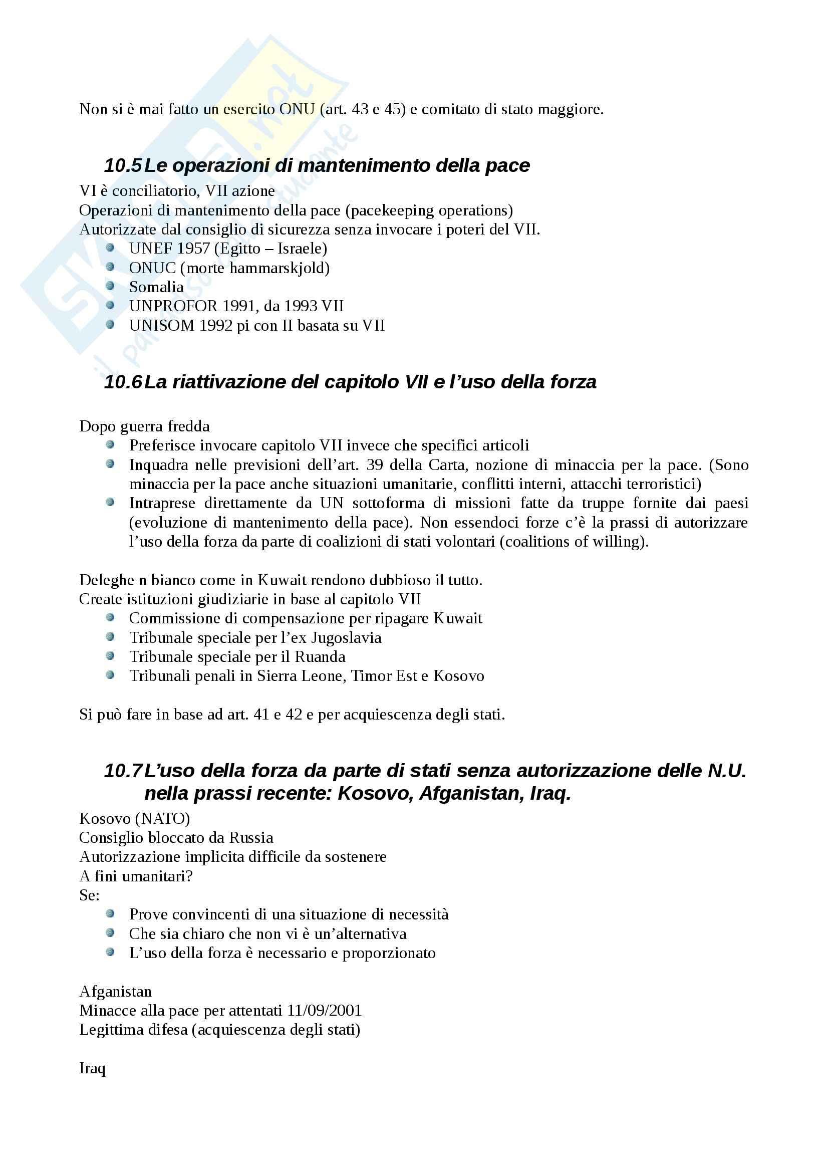 Diritto internazionale - Appunti Pag. 46
