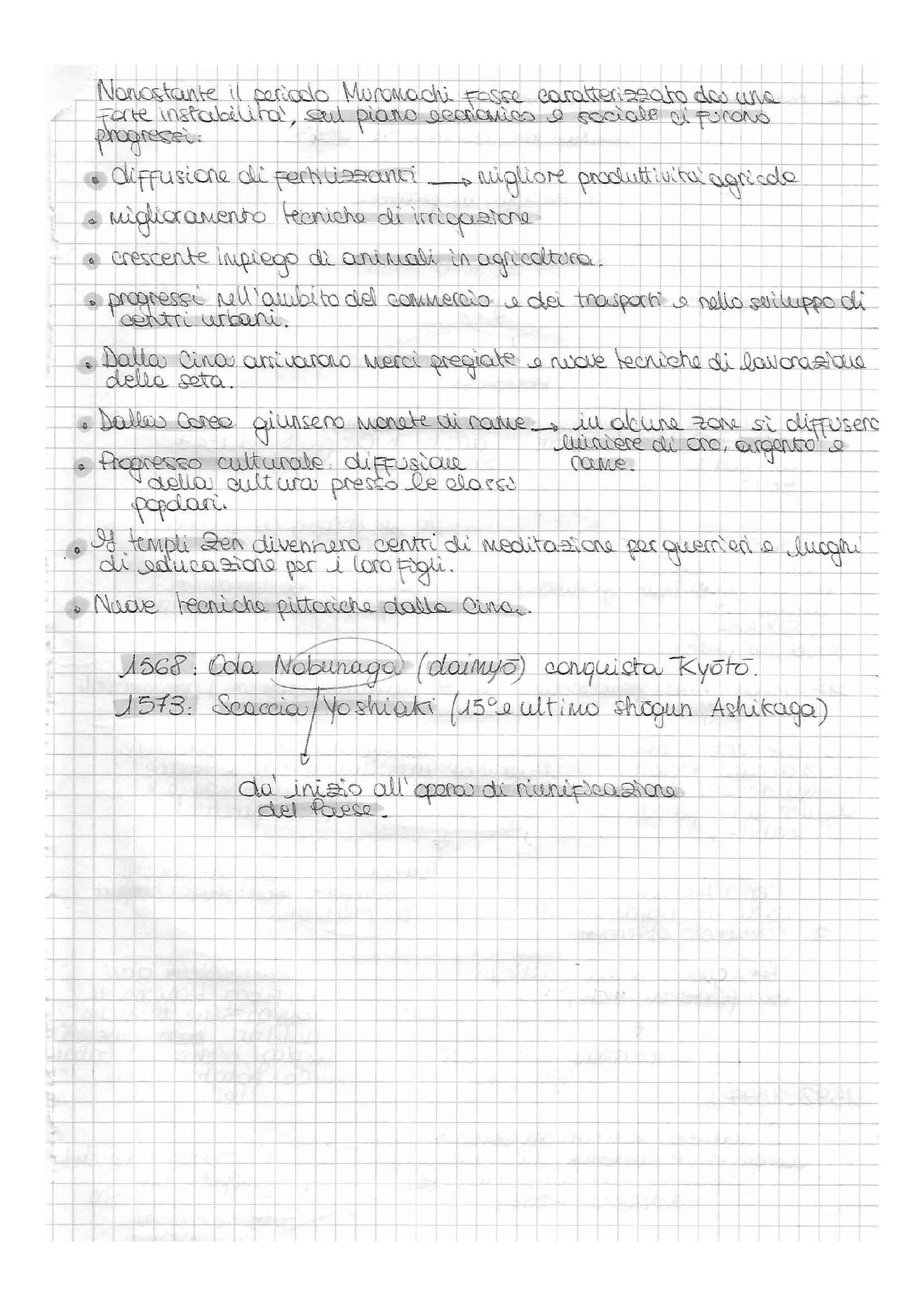 Storia del Giappone - schemi suntivi e appunti, prof. Favi Pag. 31