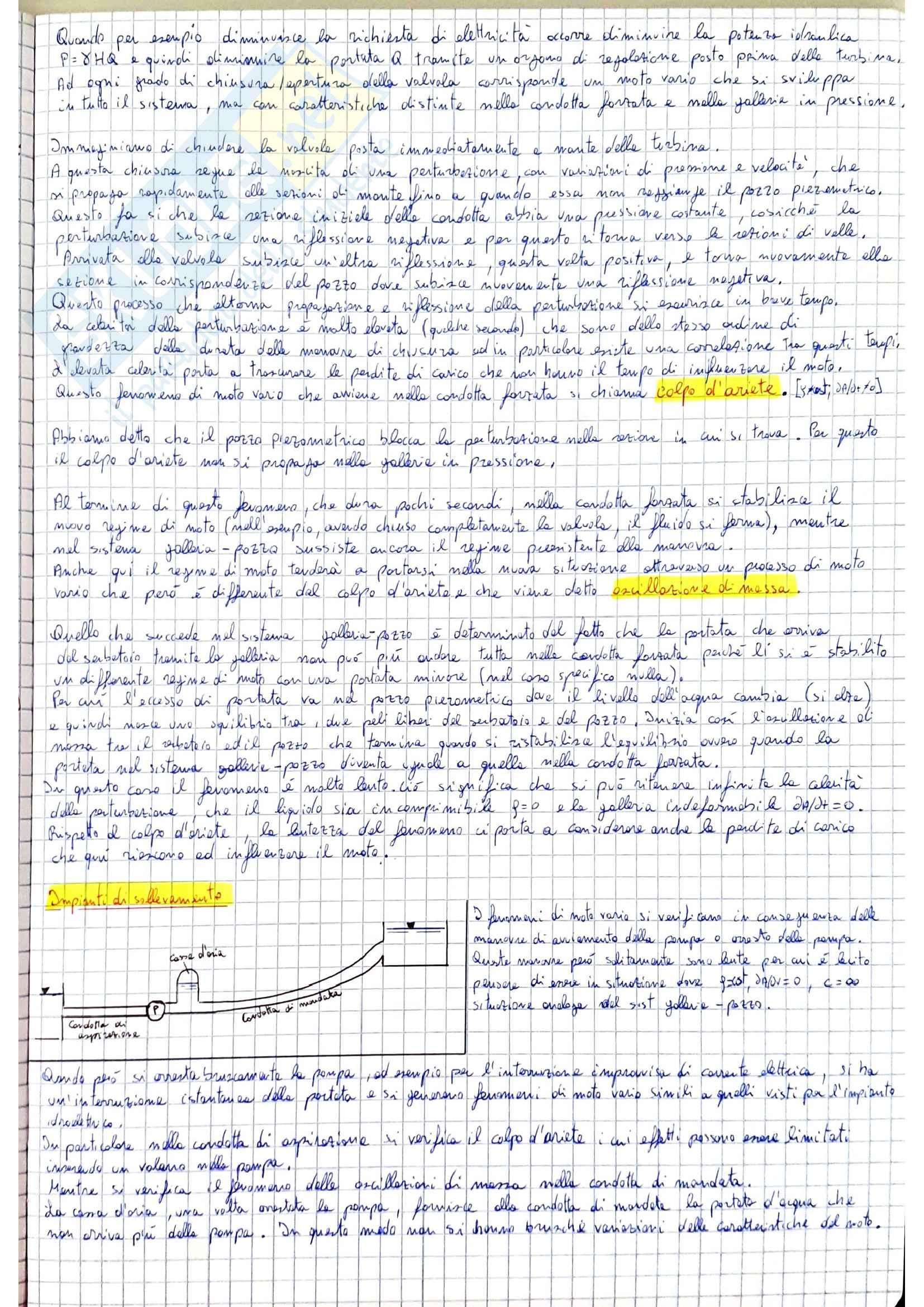 Moto vario - idraulica Pag. 2