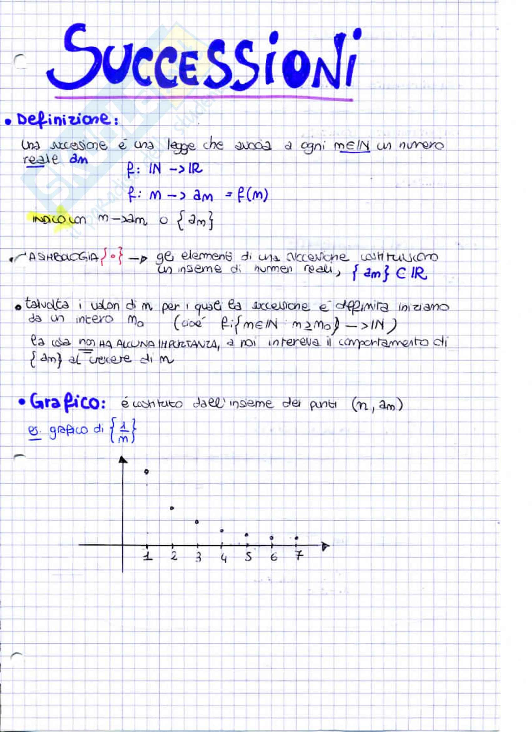Lezioni: Appunti di Analisi e Geometria I