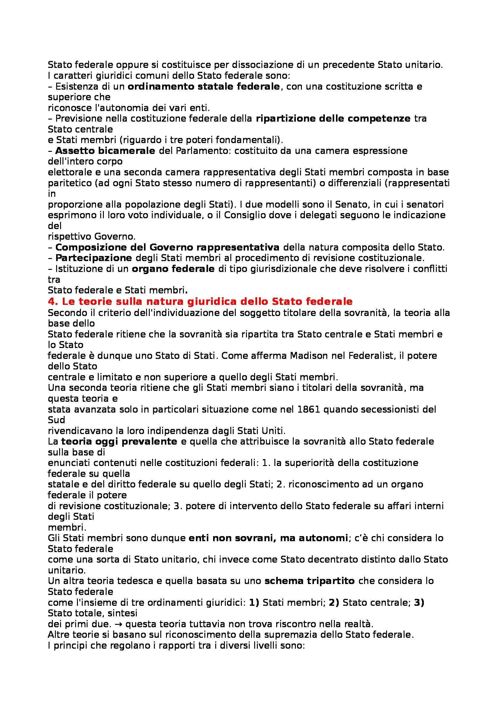 Diritto pubblico comparato - forme di Stato e tipi di Stato Pag. 2
