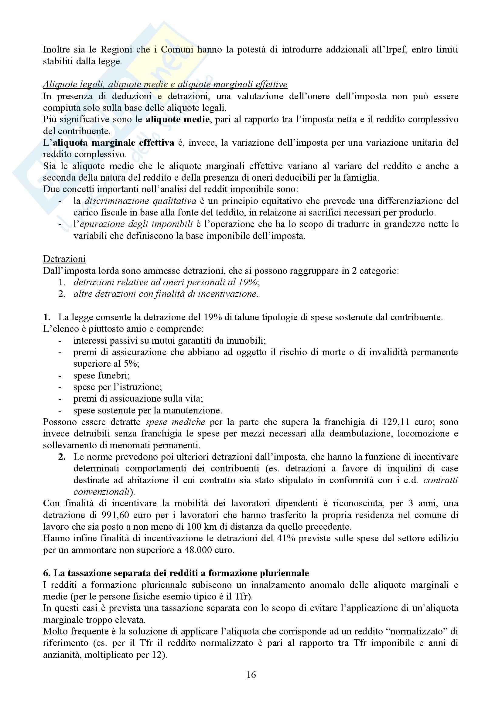 Tributi nell'economia italiana, Bosi, Guerra - Appunti Pag. 16